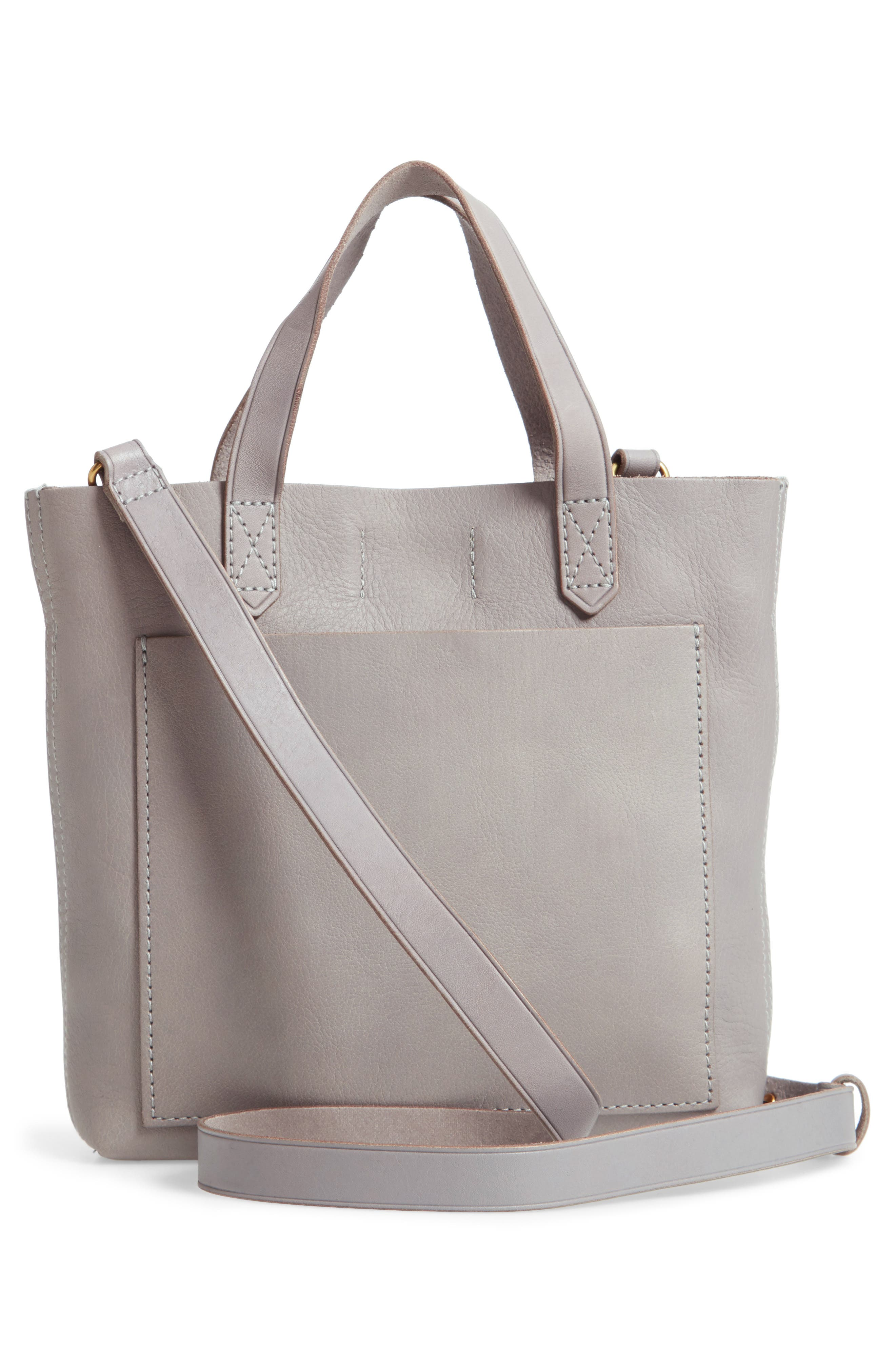 Small Transport Leather Crossbody,                         Main,                         color, STONEWALL
