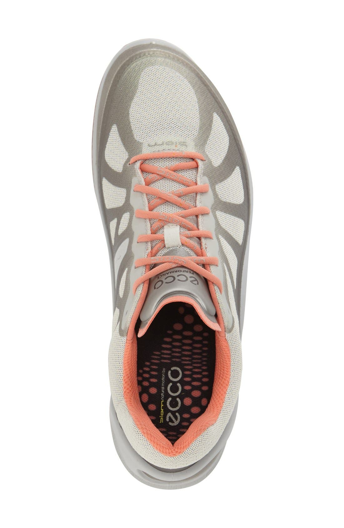 'BIOM Fjuel Racer' Sneaker,                             Alternate thumbnail 6, color,                             SILVER METALLIC CORAL