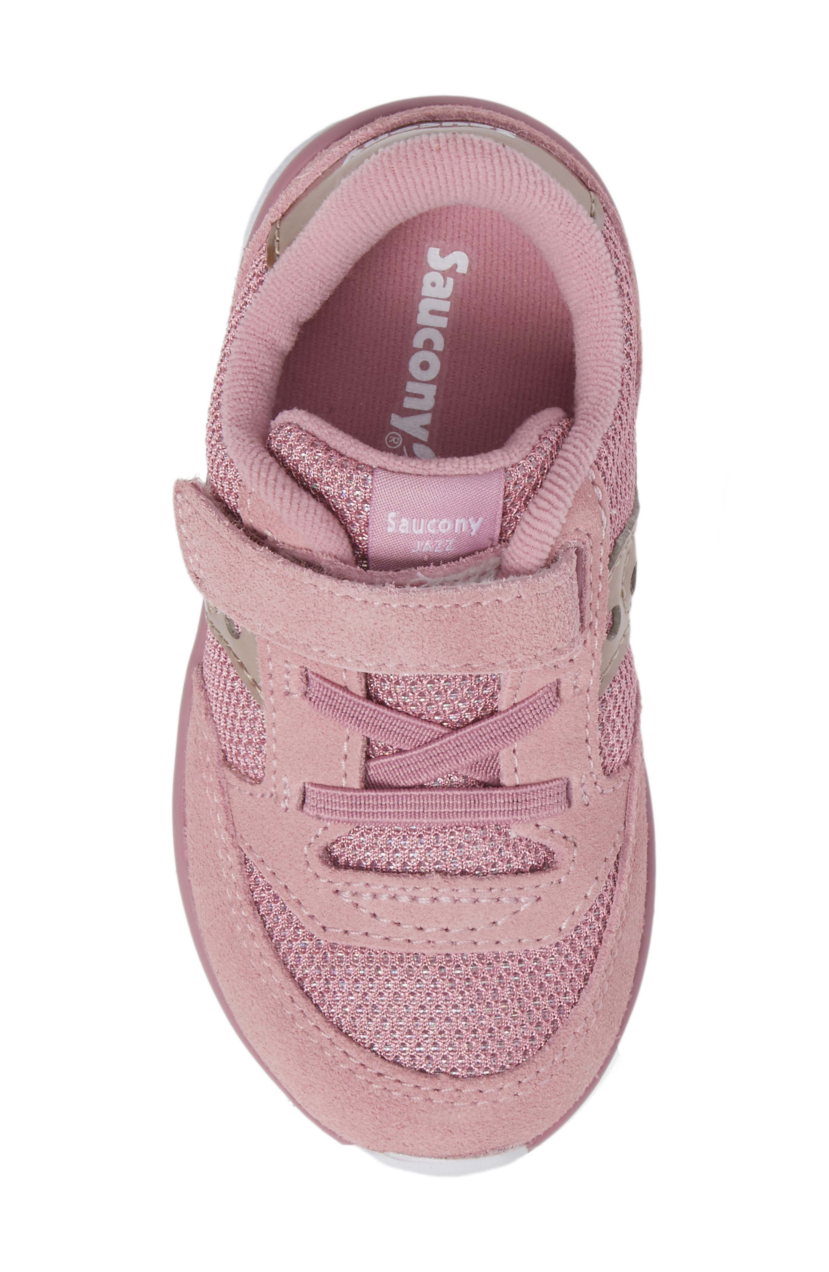 Jazz Lite Sneaker,                             Alternate thumbnail 5, color,                             BLUSH METALLIC
