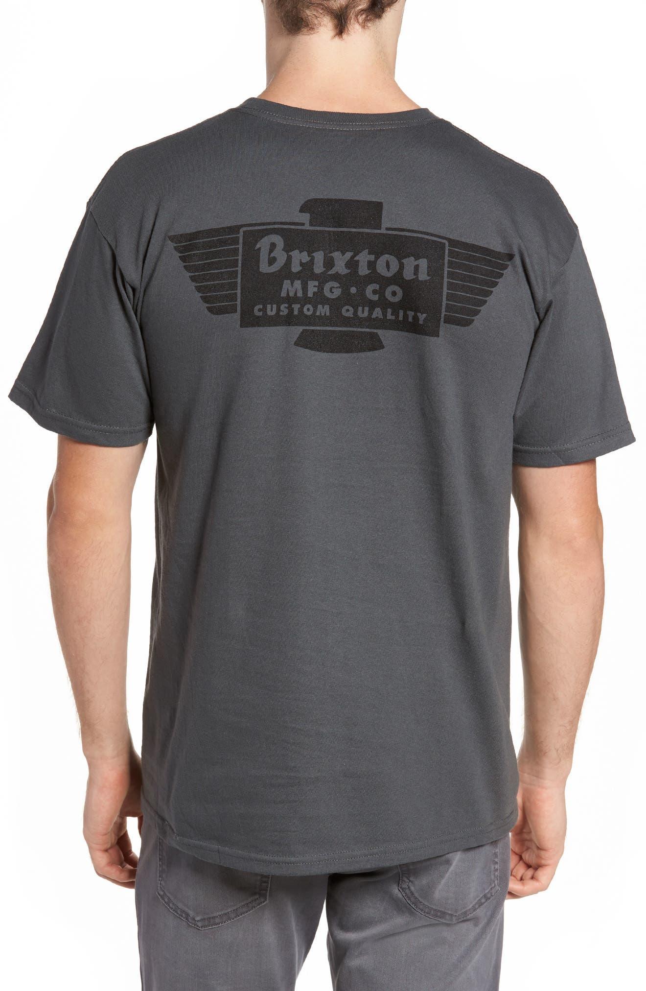 Cylinder Standard T-Shirt,                             Alternate thumbnail 2, color,                             050