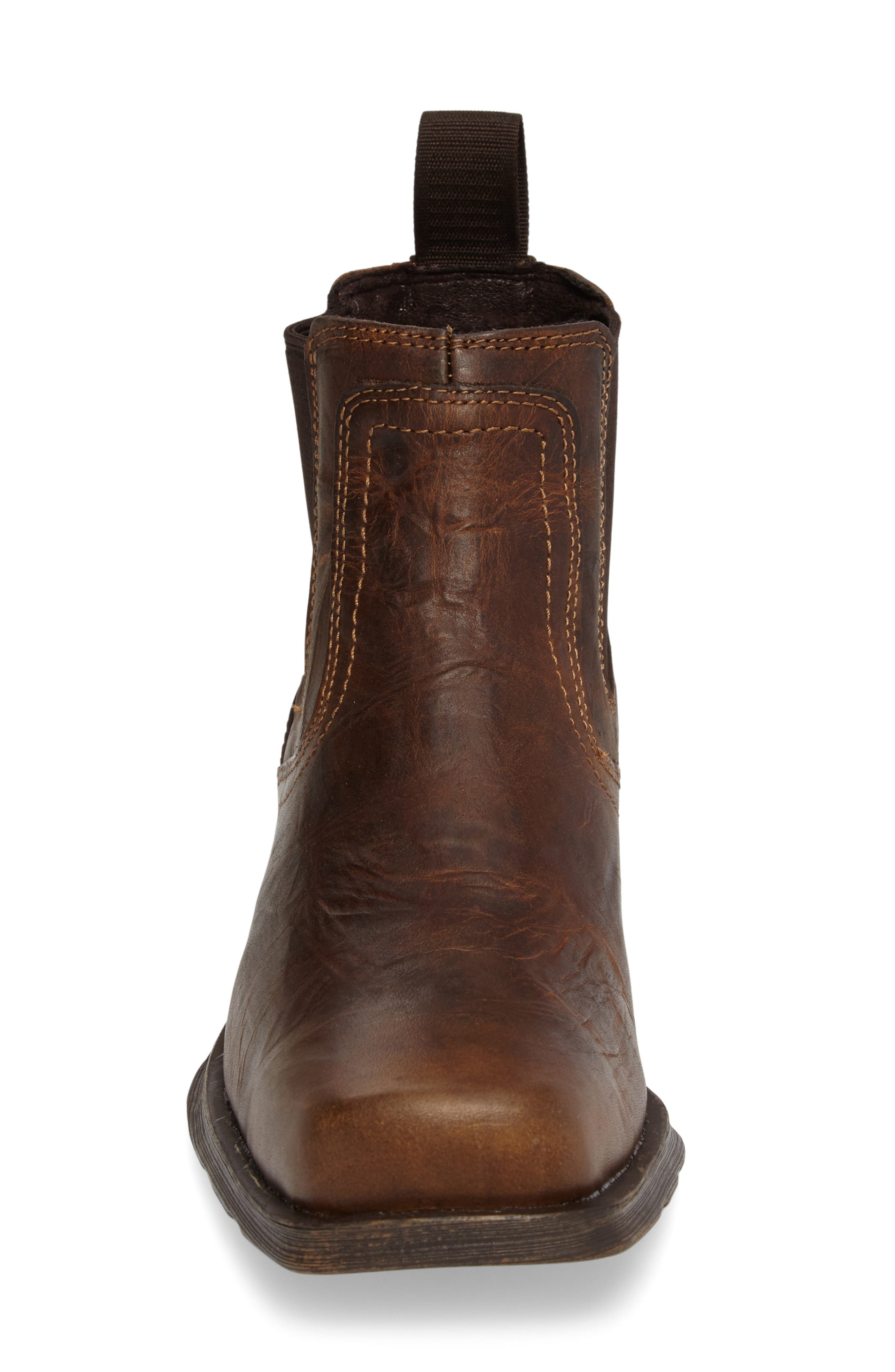 ARIAT,                             Midtown Rambler Mid Chelsea Boot,                             Alternate thumbnail 4, color,                             BARN BROWN