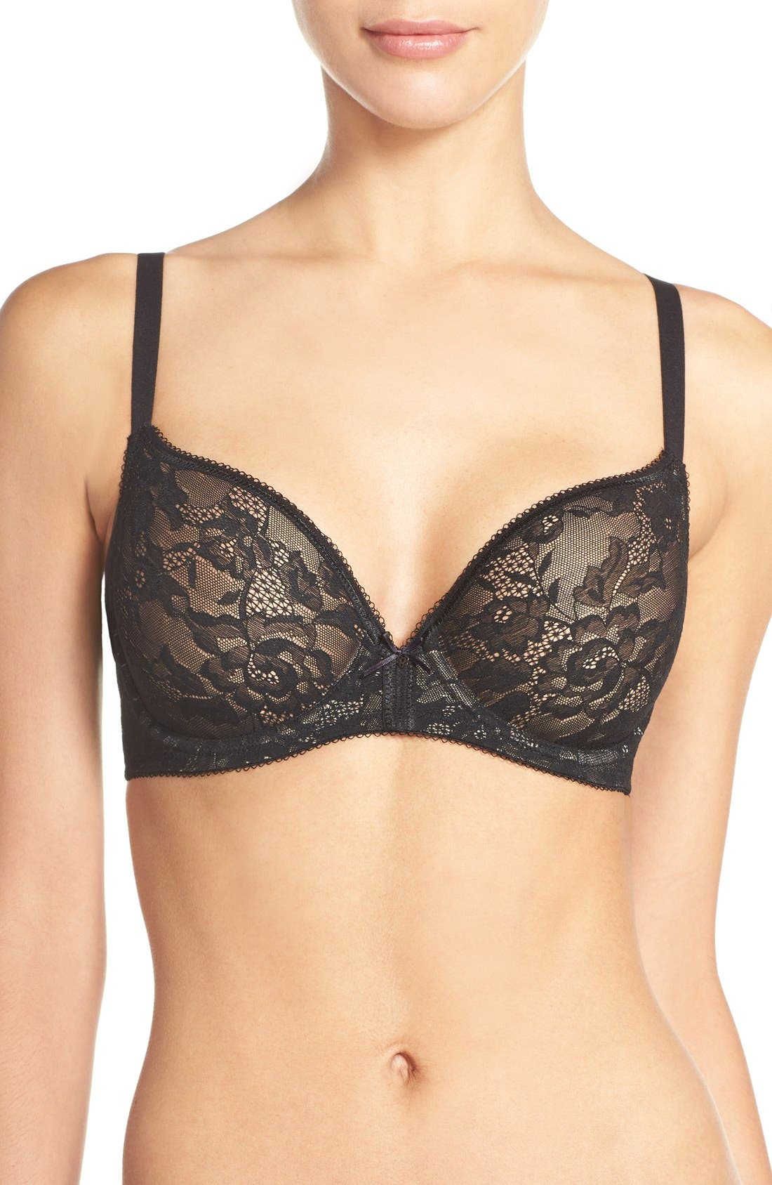 Finesse Molded Underwire T-Shirt Bra,                             Main thumbnail 2, color,