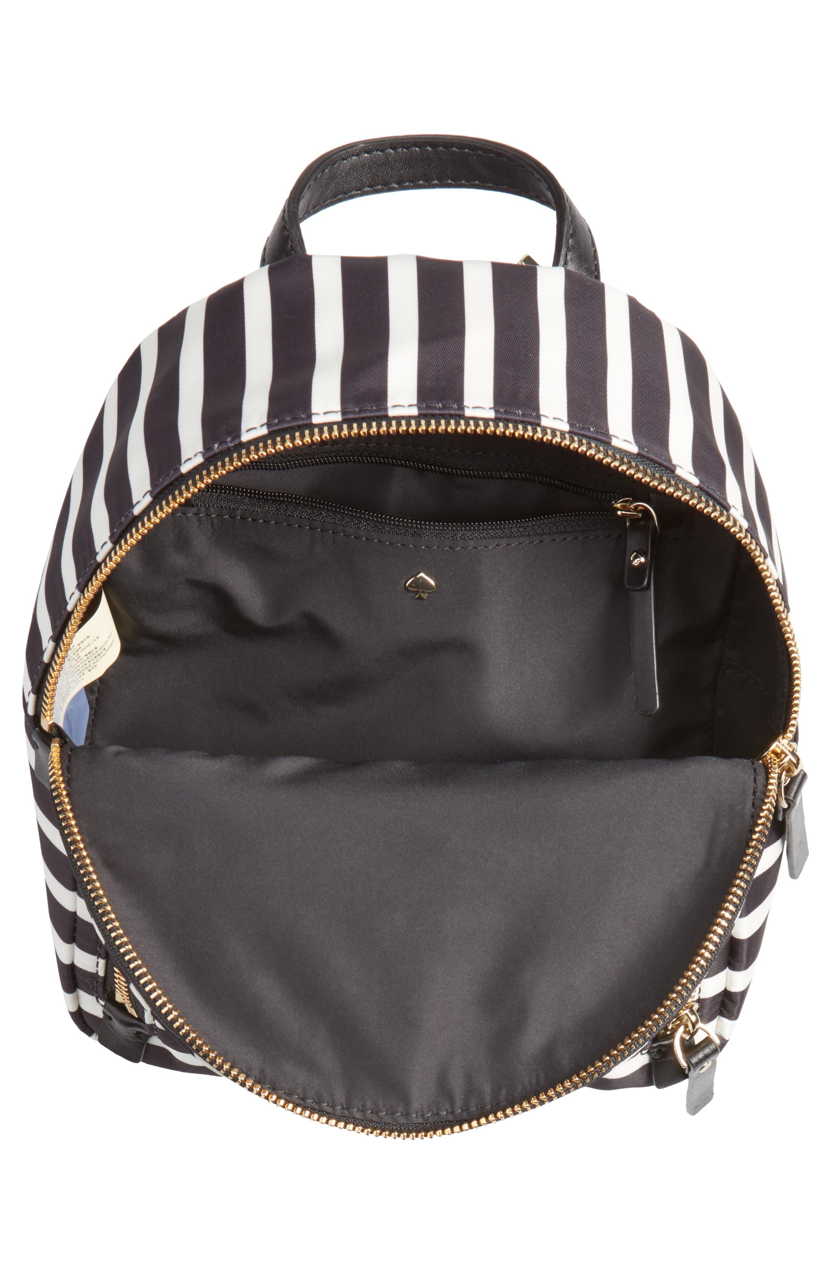 watson lane - small hartley nylon backpack,                             Alternate thumbnail 4, color,                             001