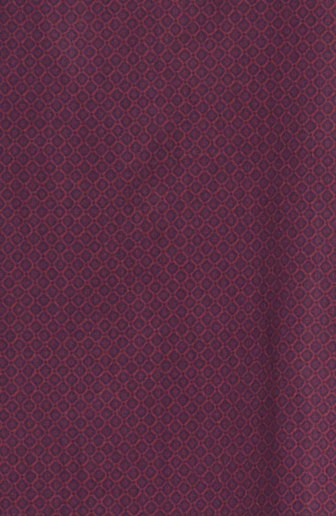 Shamus Regular Fit Sport Shirt,                             Alternate thumbnail 6, color,                             MAROON