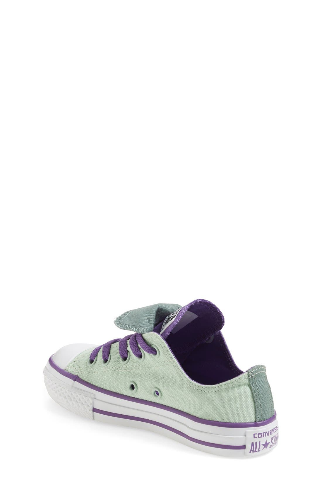 Chuck Taylor<sup>®</sup> All Star<sup>®</sup> Double Tongue Sneaker,                             Alternate thumbnail 9, color,