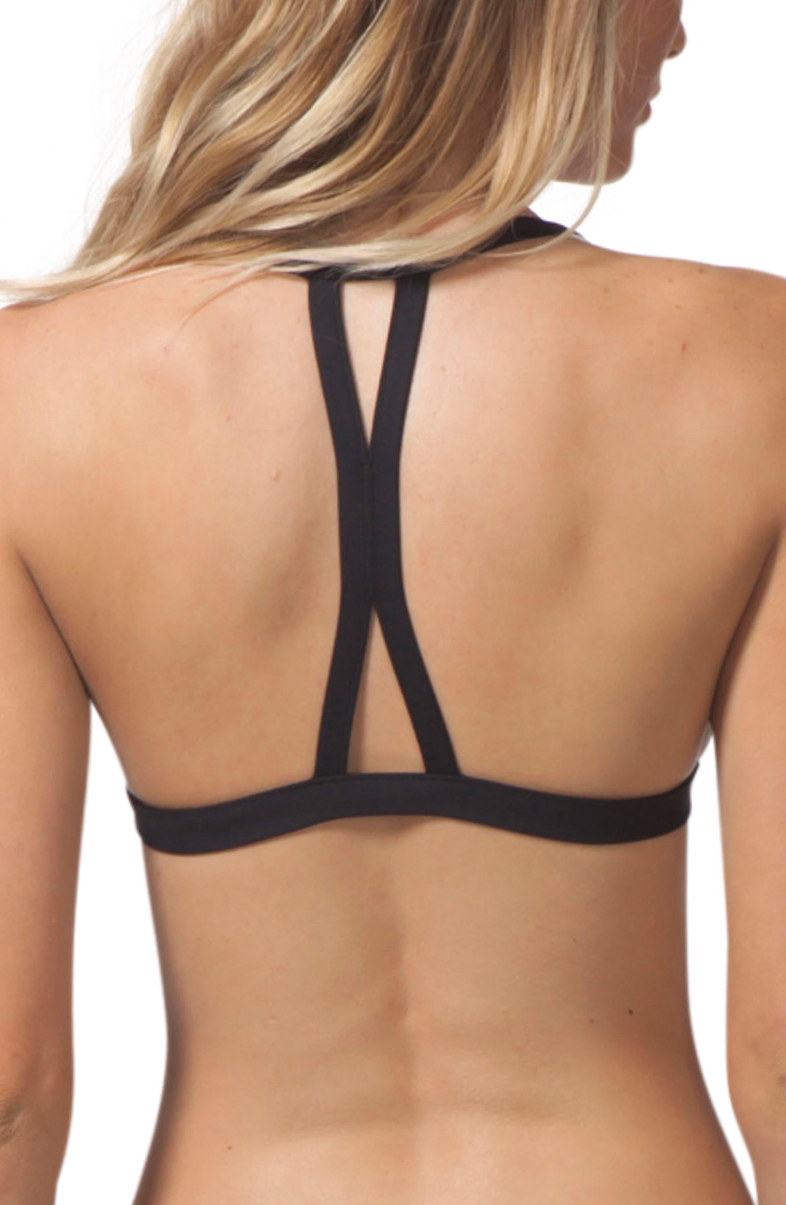 Mirage Halter Bikini Top,                             Alternate thumbnail 2, color,