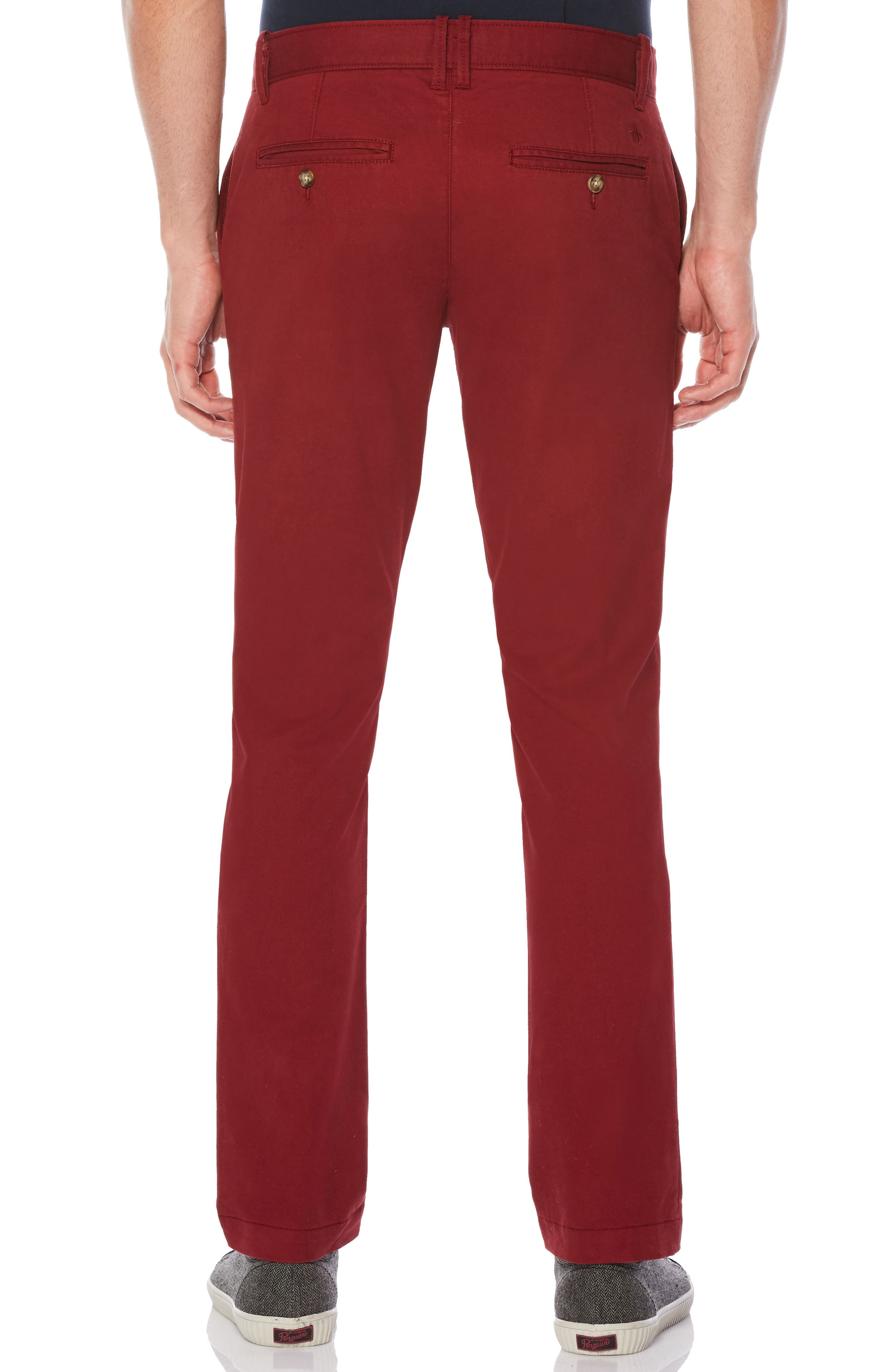P55 Slim Fit Stretch Chinos,                             Alternate thumbnail 2, color,
