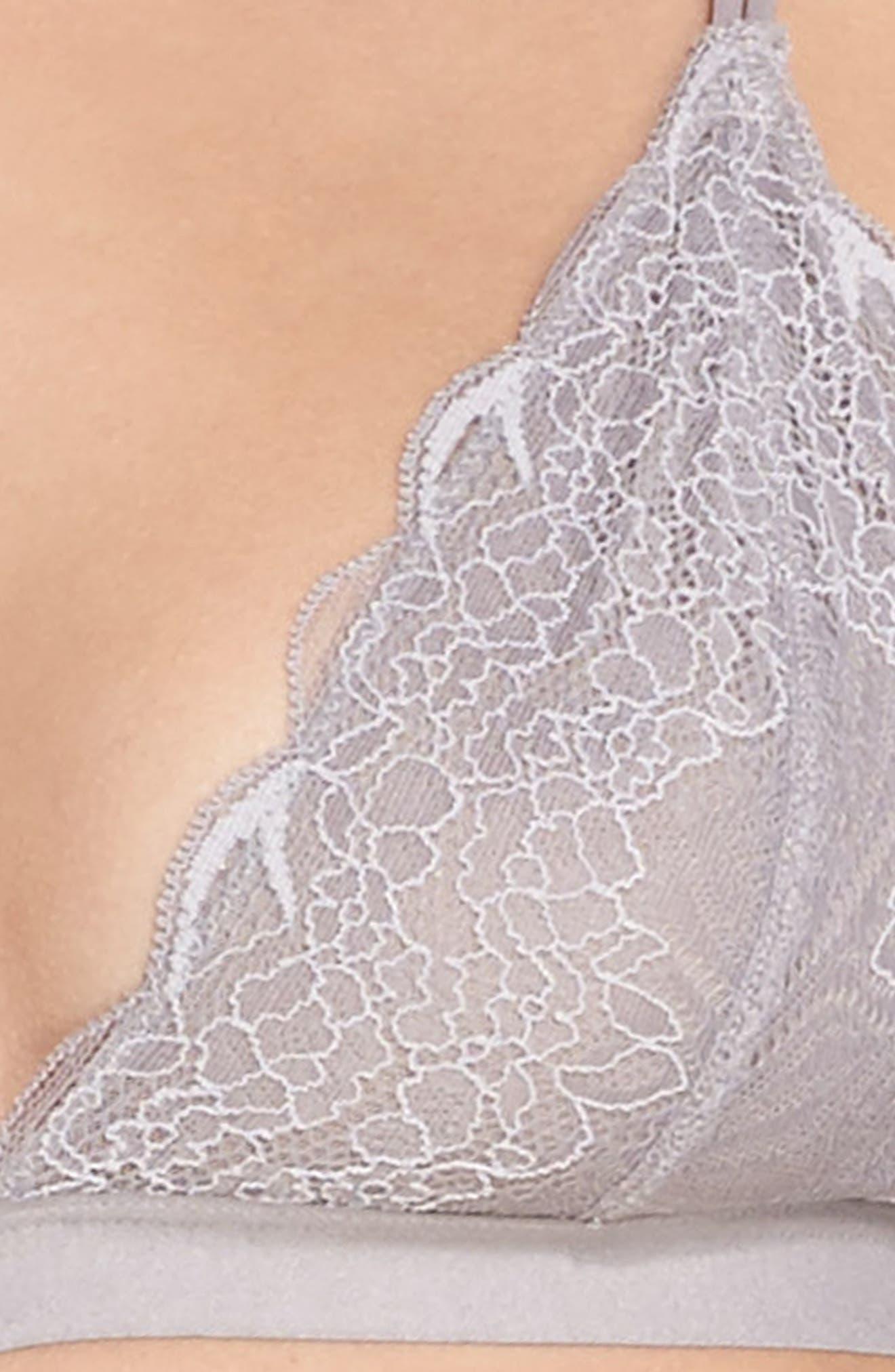 Lace Bralette,                             Alternate thumbnail 4, color,                             058