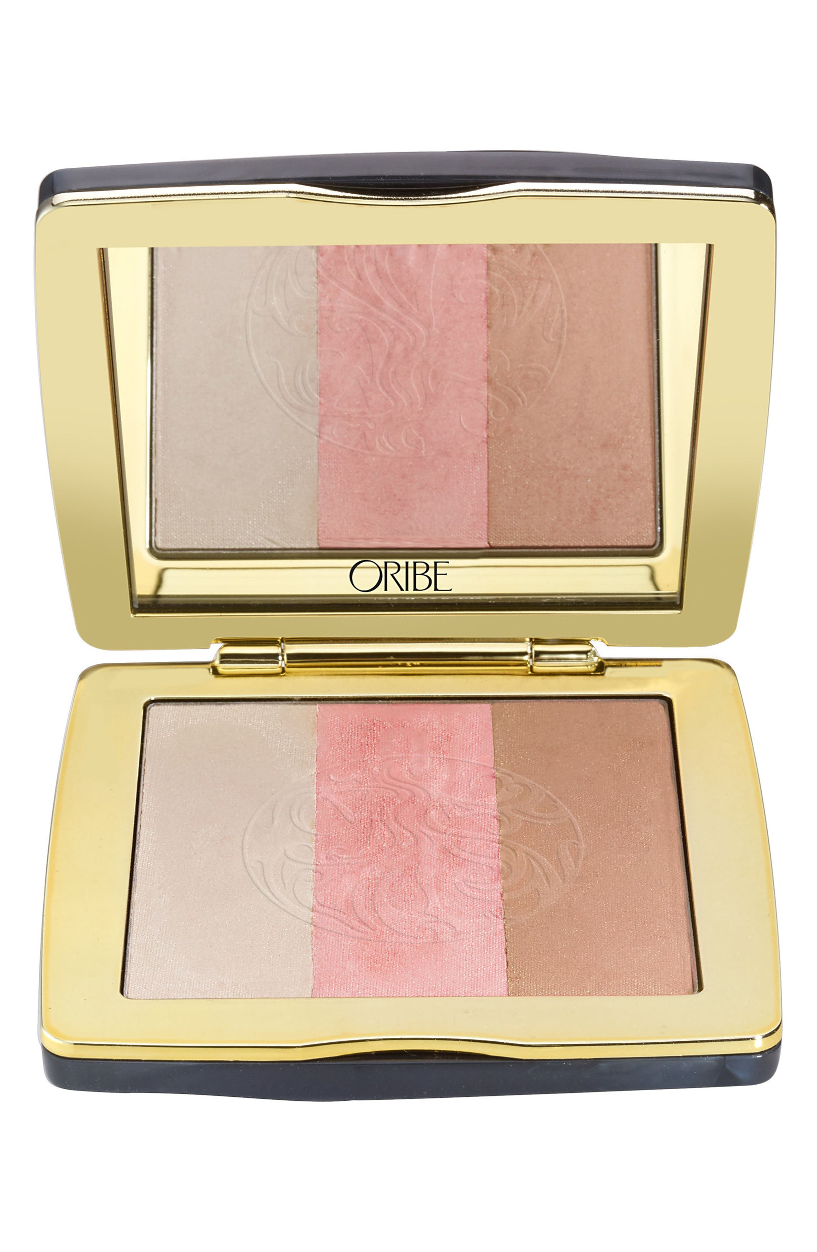 SPACE.NK.apothecary Oribe Illuminating Face Palette,                             Main thumbnail 1, color,                             SUNLIT