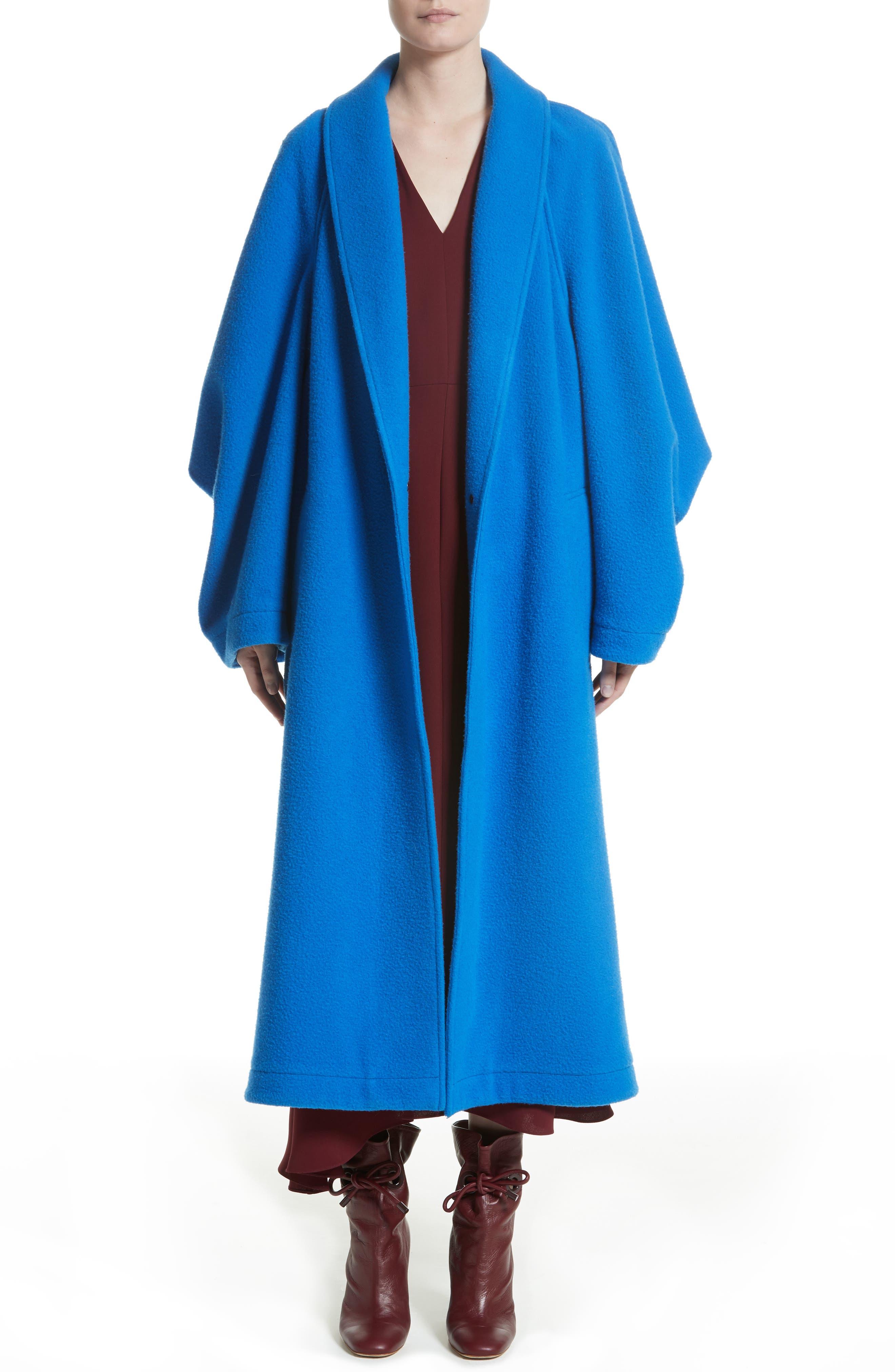 Hotaru Wool & Cashmere Coat,                             Main thumbnail 1, color,                             405
