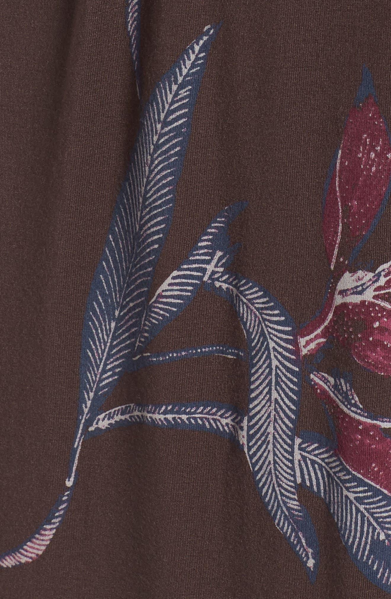 Floral Halter Dress,                             Alternate thumbnail 6, color,                             MULTI