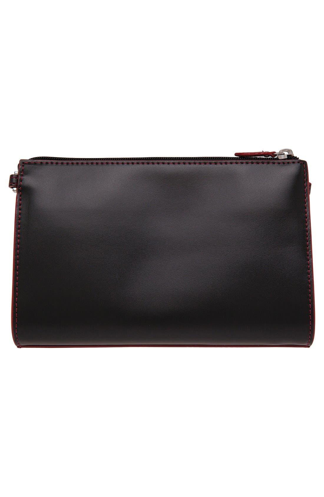 Lodis'Audrey Collection -Vicky' ConvertibleCrossbody Bag,                             Alternate thumbnail 4, color,                             001