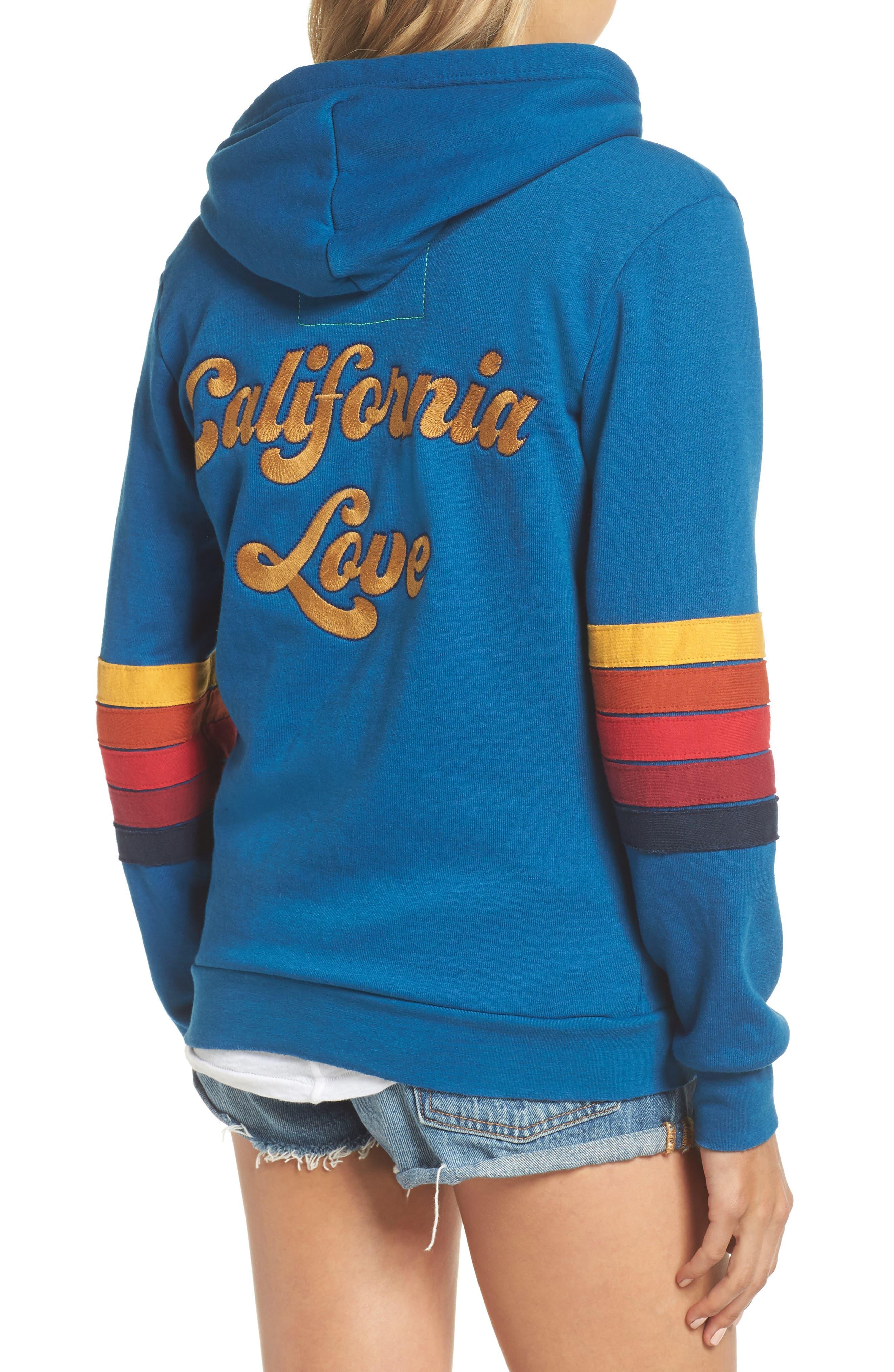 California Love Hoodie,                             Alternate thumbnail 2, color,