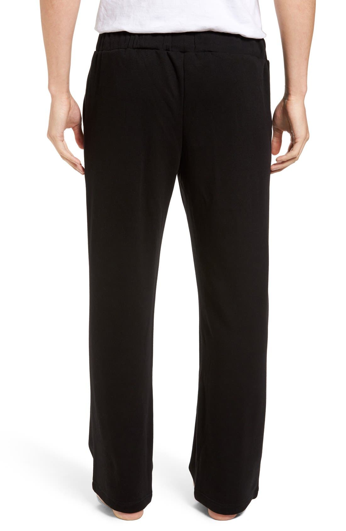 Fleece Lounge Pants,                             Main thumbnail 1, color,                             001