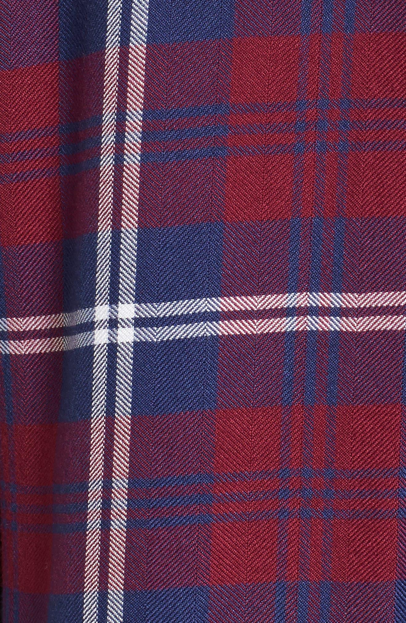 Hunter Plaid Shirt,                             Alternate thumbnail 584, color,