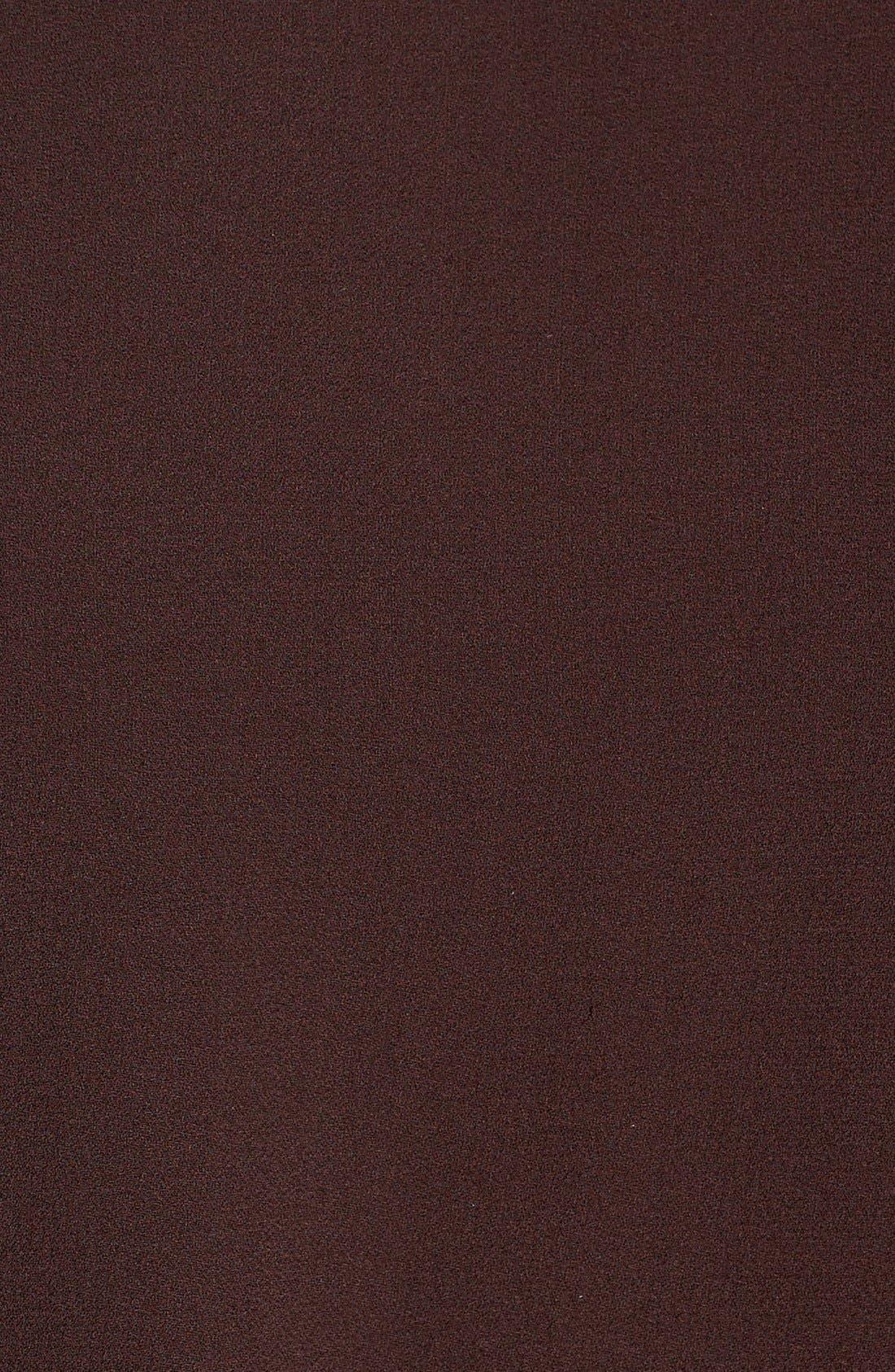 Silk Crepe High Neck Sleeveless Blouse,                             Alternate thumbnail 32, color,
