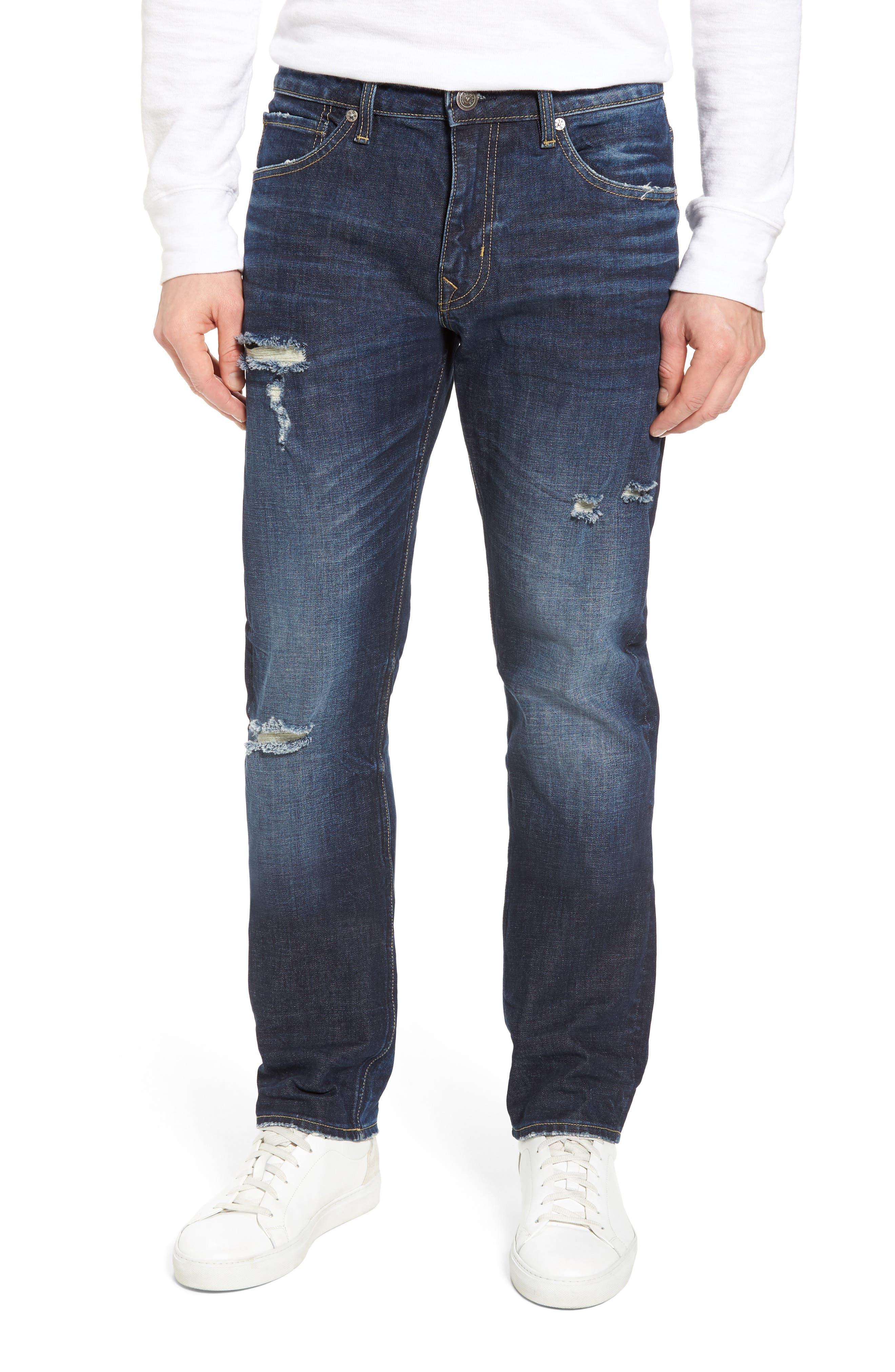 Slim Straight Leg Jeans,                         Main,                         color, 400