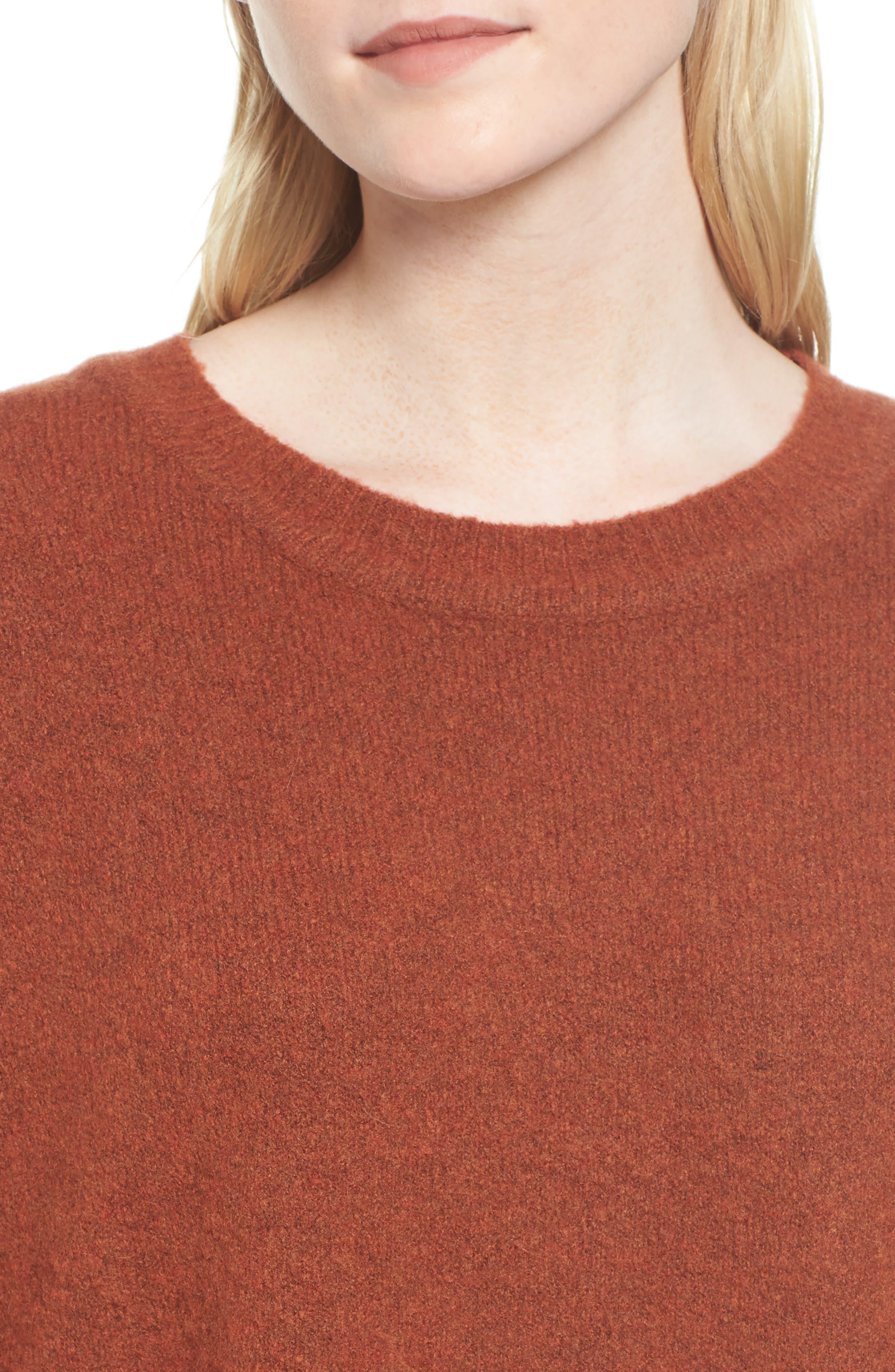 Oversize Cashmere Sweater,                             Alternate thumbnail 4, color,                             806
