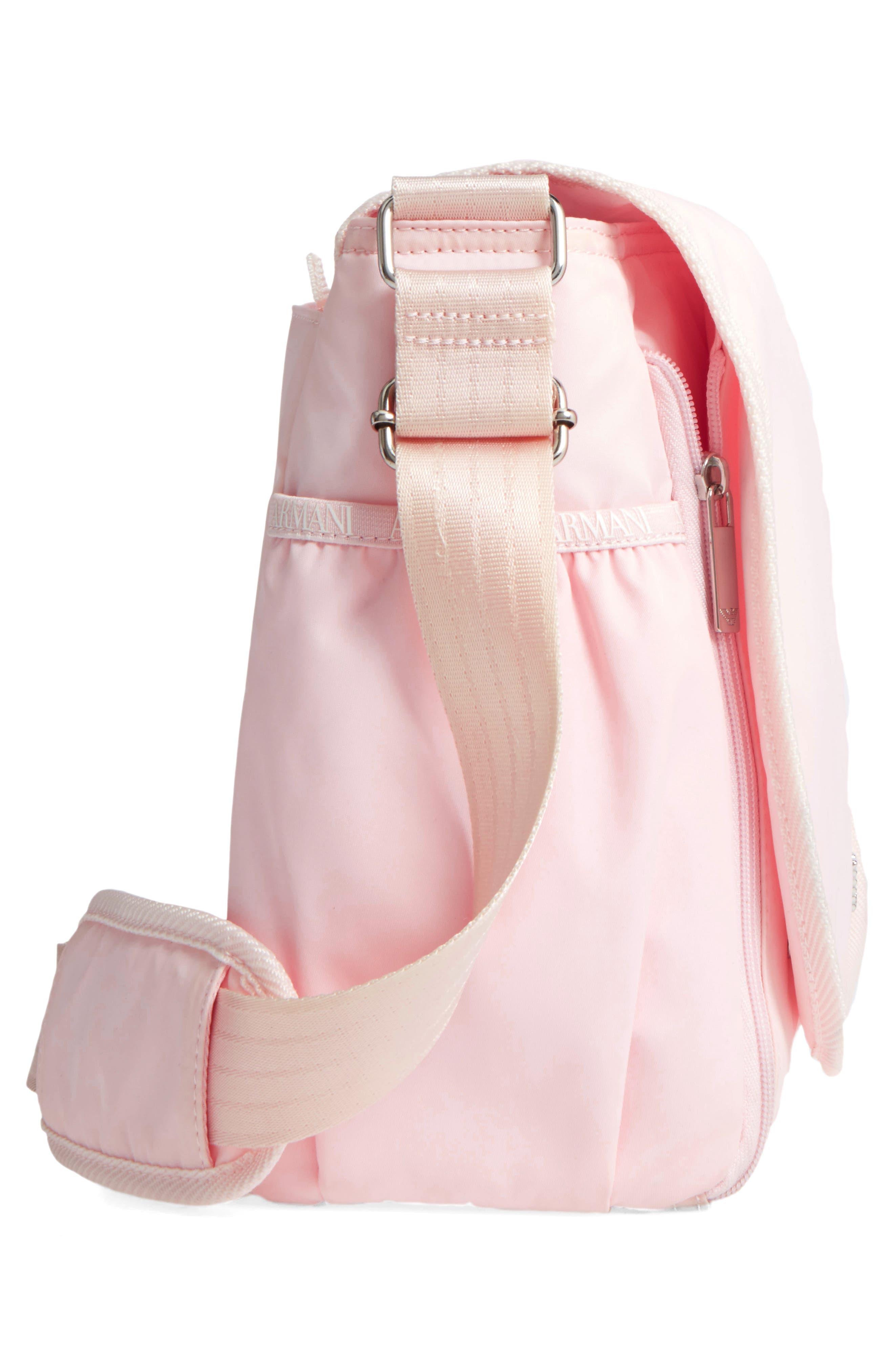 Nylon Messenger Diaper Bag,                             Alternate thumbnail 20, color,