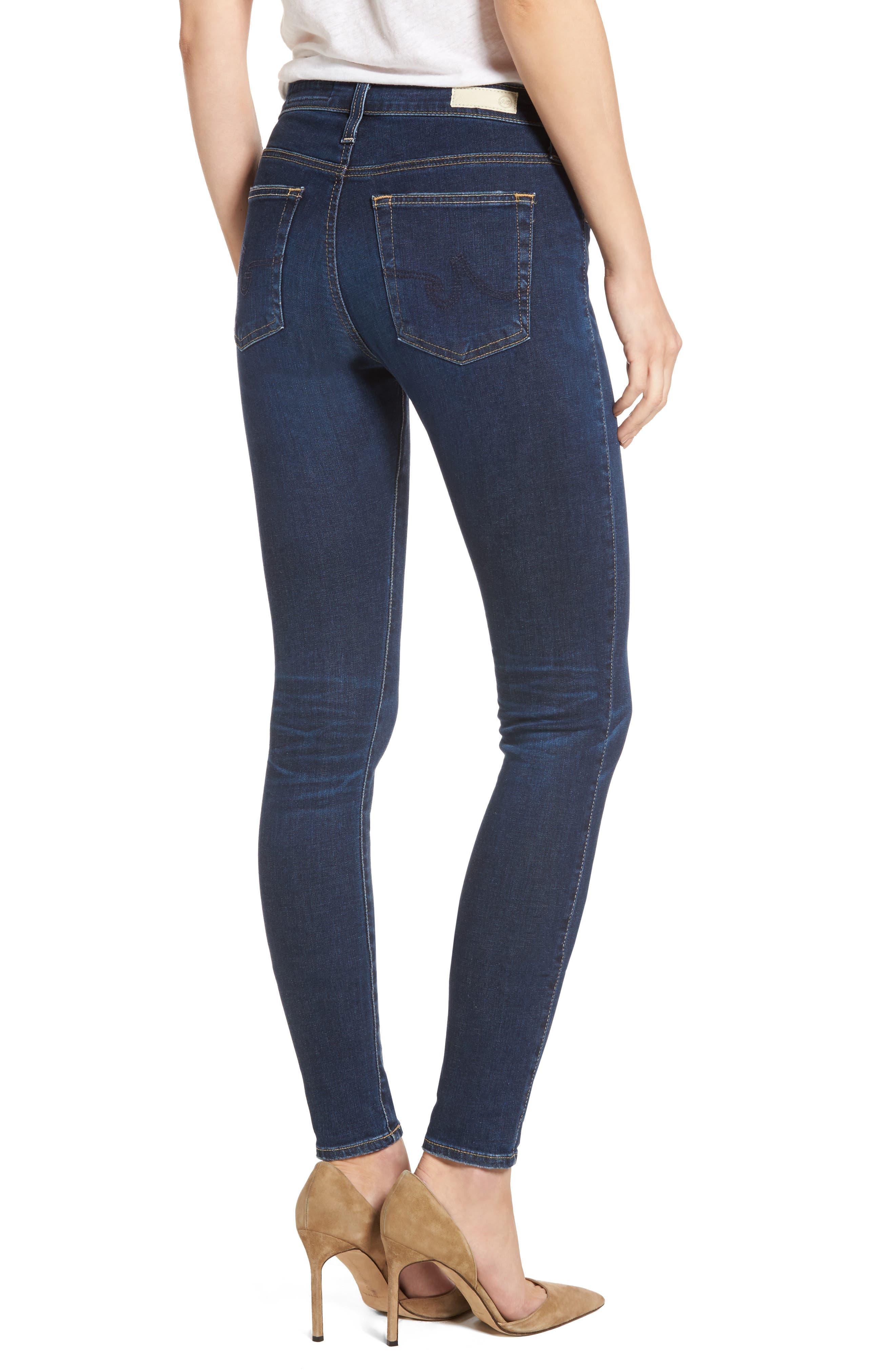 'The Farrah' High Rise Skinny Jeans,                             Alternate thumbnail 16, color,