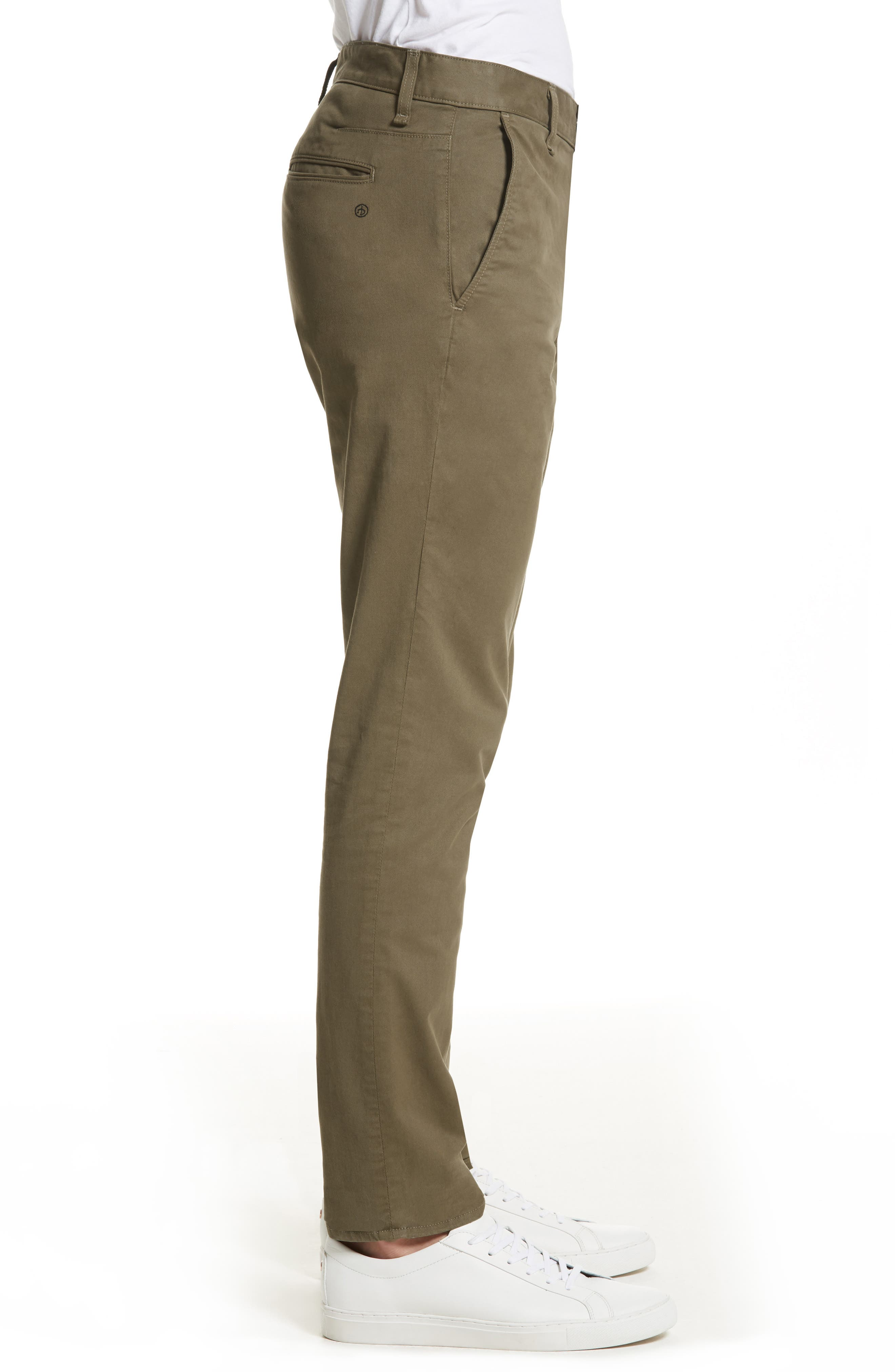Fit 2 Chinos,                             Alternate thumbnail 3, color,                             ARMY