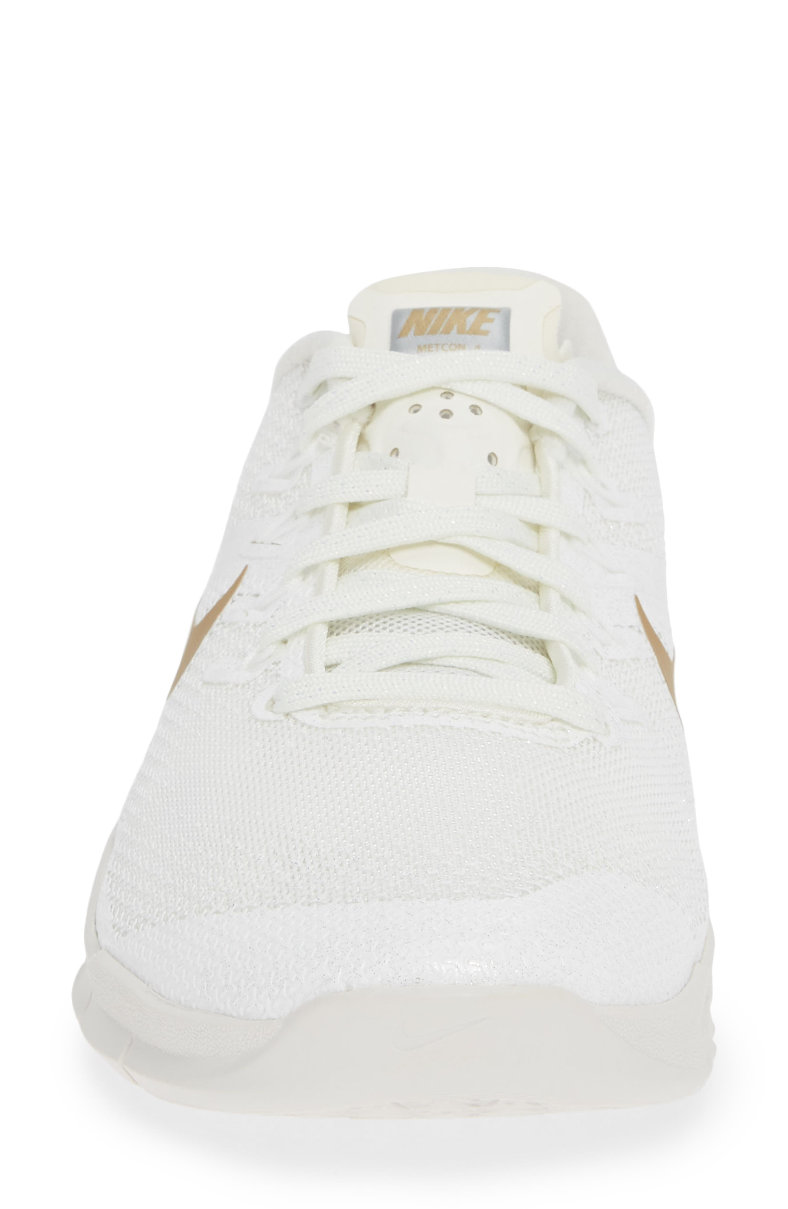 Metcon 4 Training Shoe,                             Alternate thumbnail 4, color,                             CHAMPAGNE