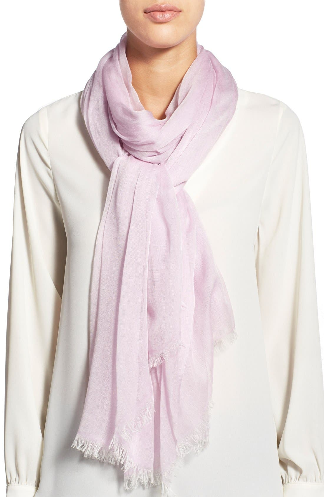 Modal Silk Blend Scarf,                             Main thumbnail 25, color,