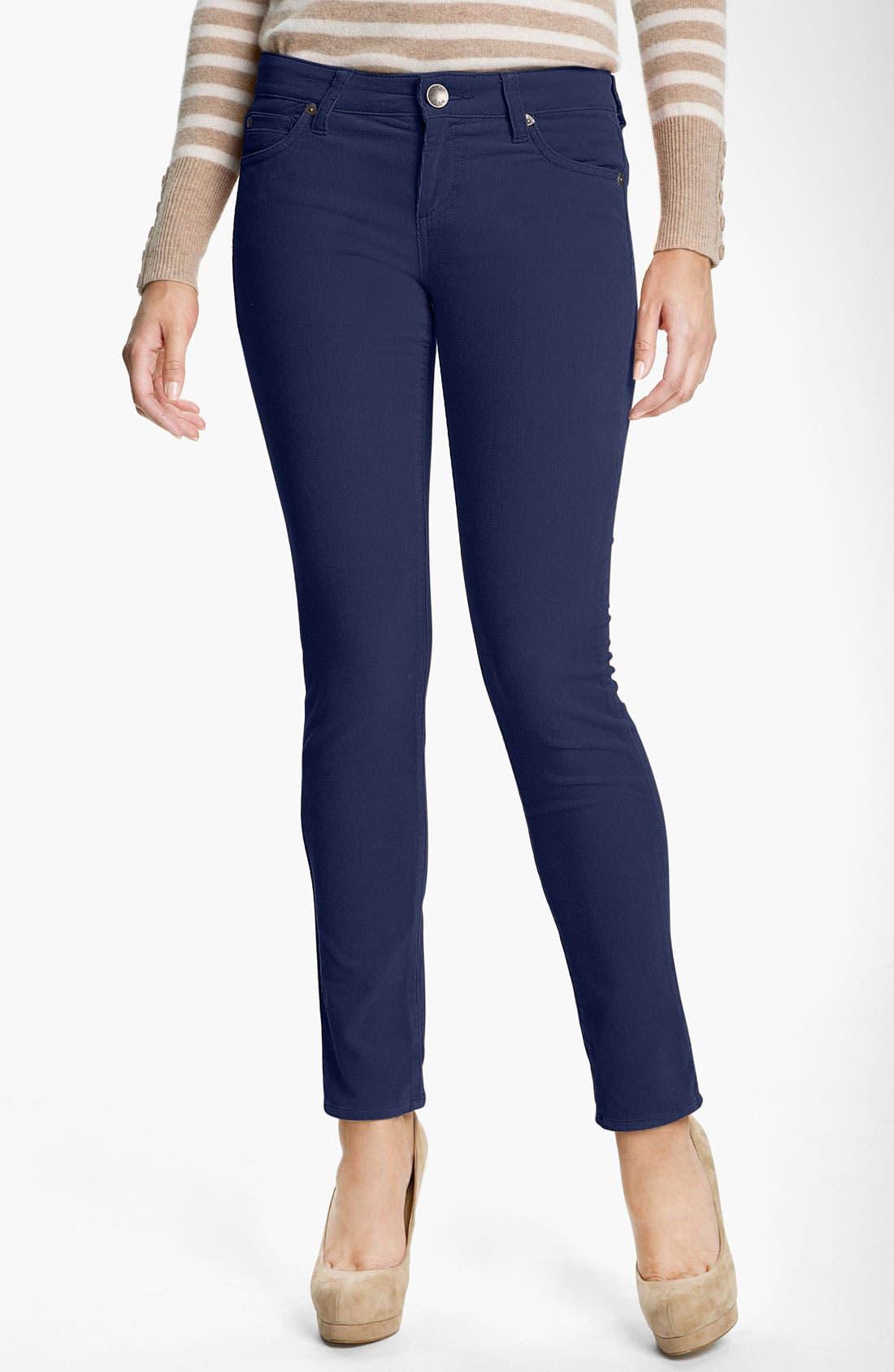 'Diana' Stretch Corduroy Skinny Pants,                             Main thumbnail 12, color,