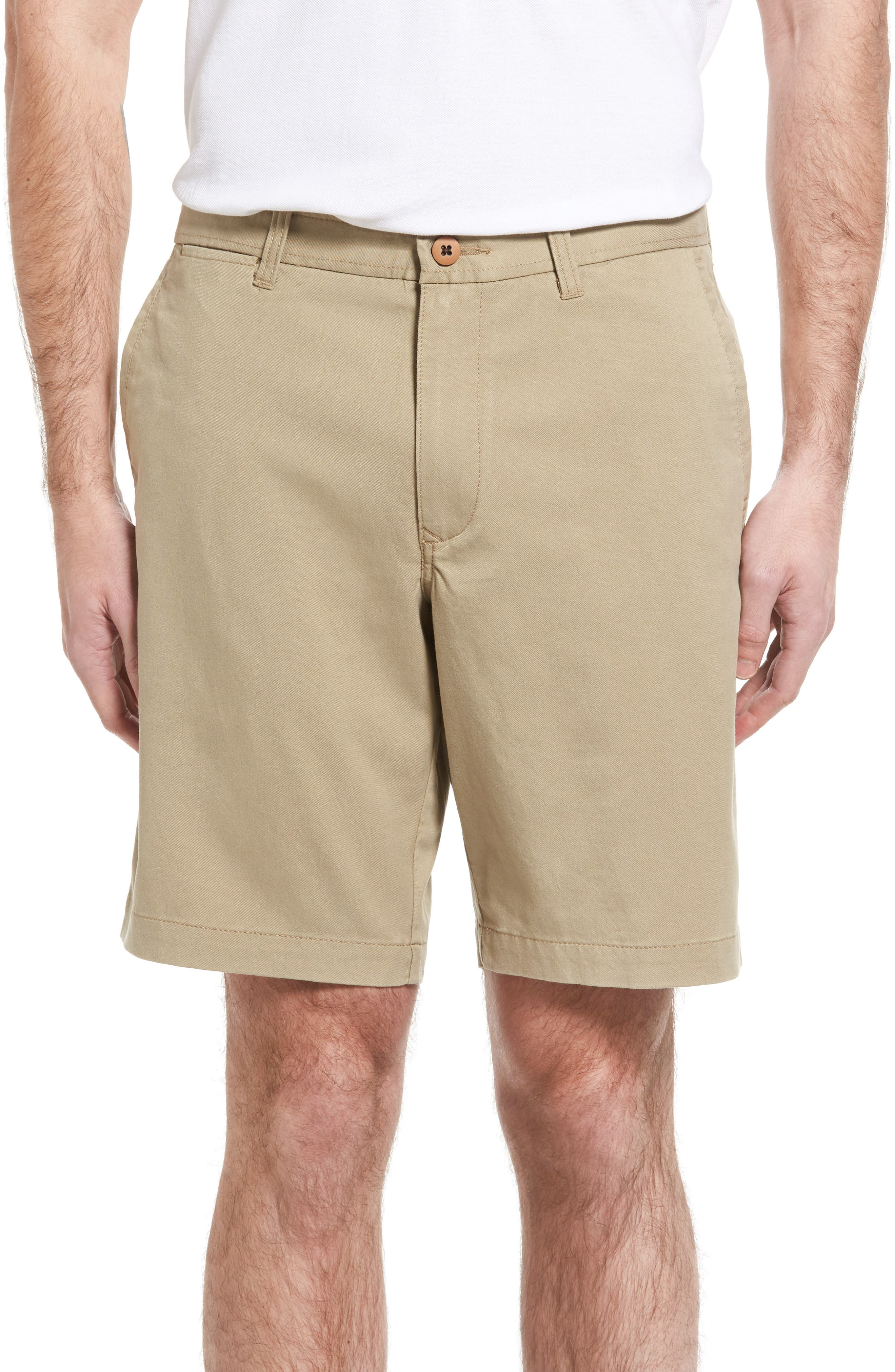 'Offshore' Stretch Twill Shorts,                         Main,                         color, 201
