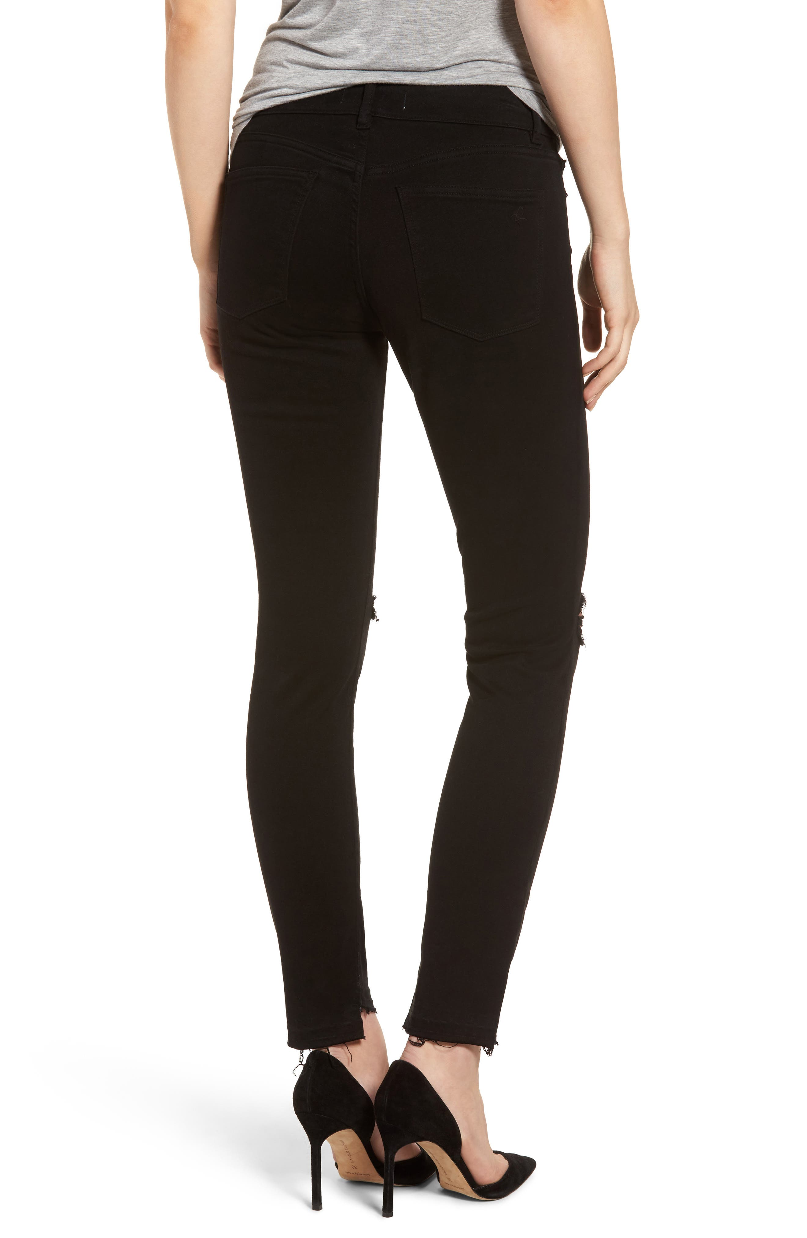 Margaux Instasculpt Ankle Skinny Jeans,                             Alternate thumbnail 2, color,                             001