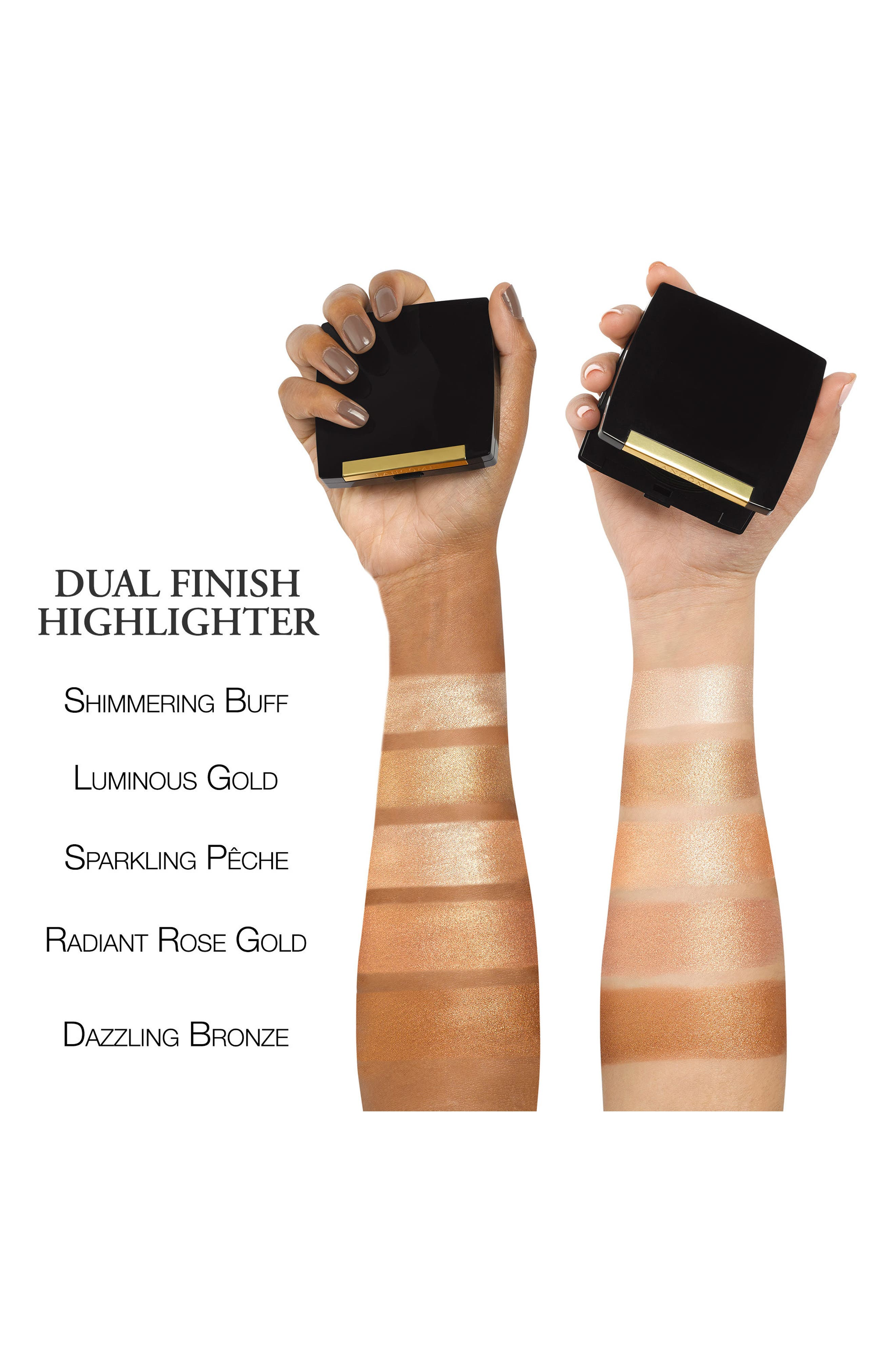 Dual Finish Highlighter,                             Alternate thumbnail 2, color,                             04 DAZZLING BRONZE