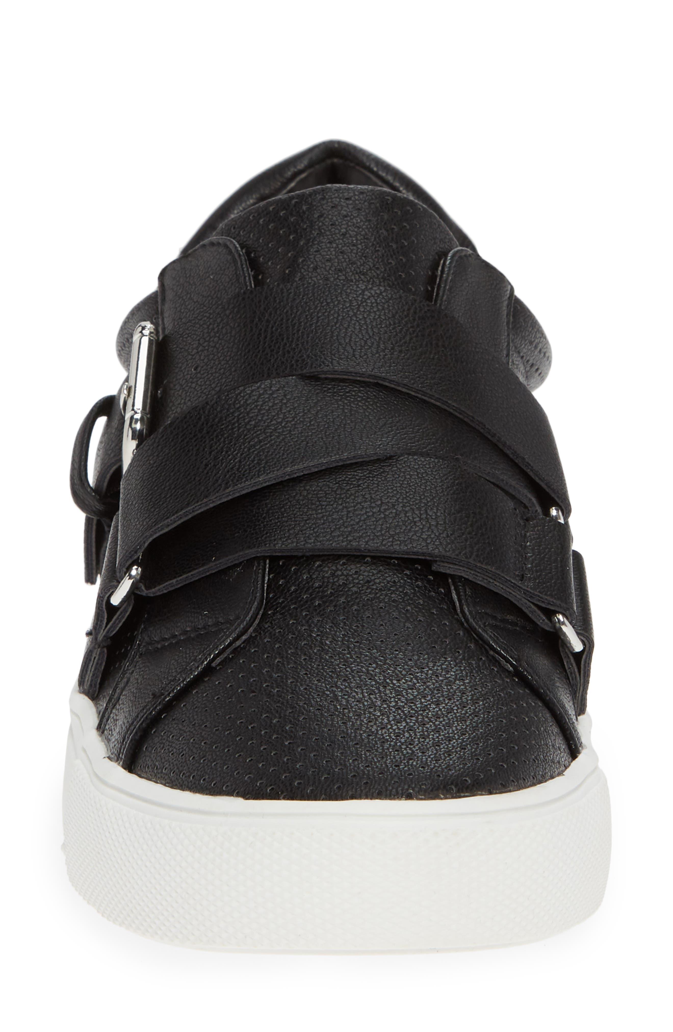 Kaelynn Sneaker,                             Alternate thumbnail 4, color,                             BLACK