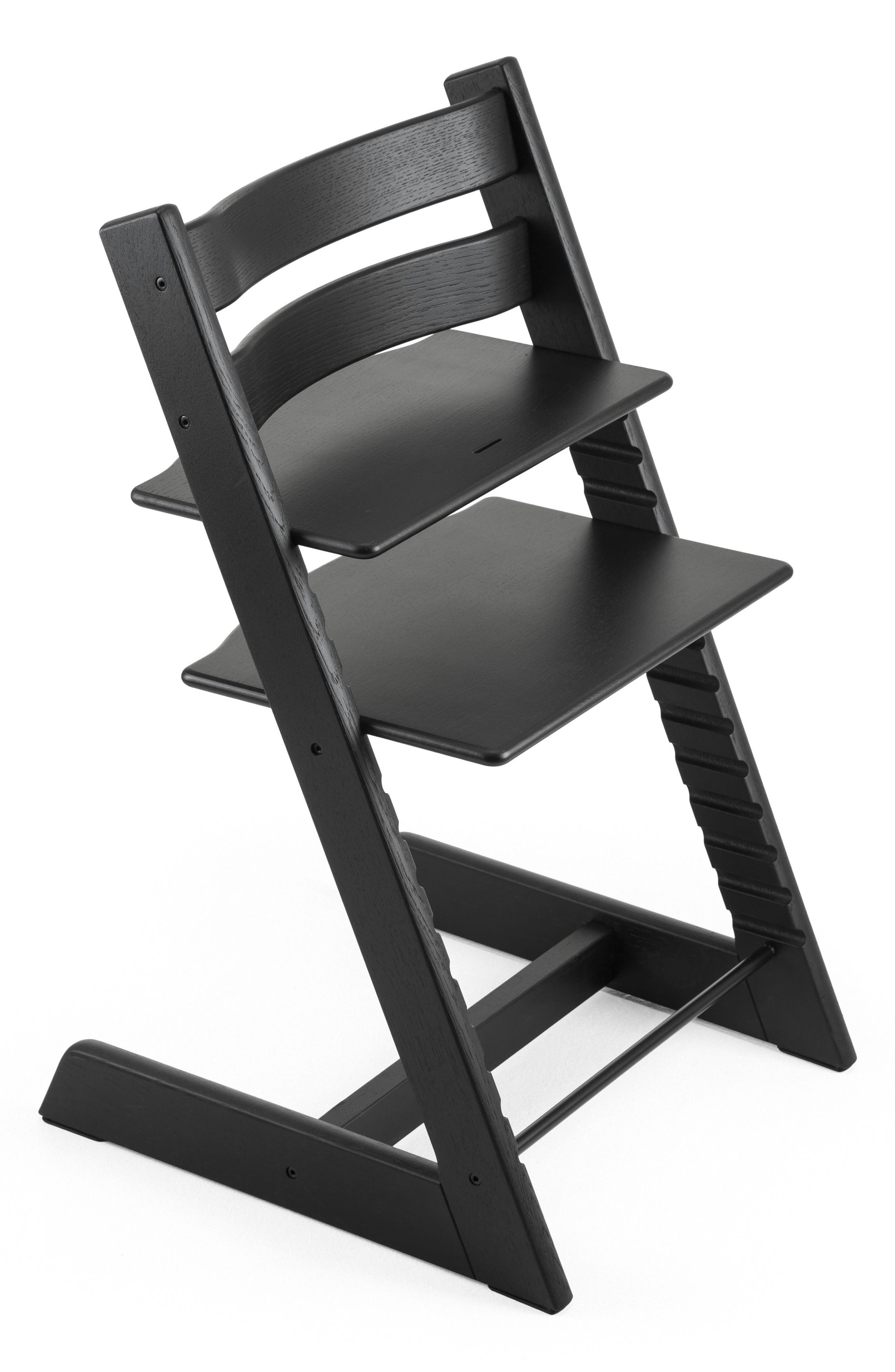 Tripp Trapp<sup>®</sup> Limited Edition Oak Chair,                         Main,                         color, BLACK