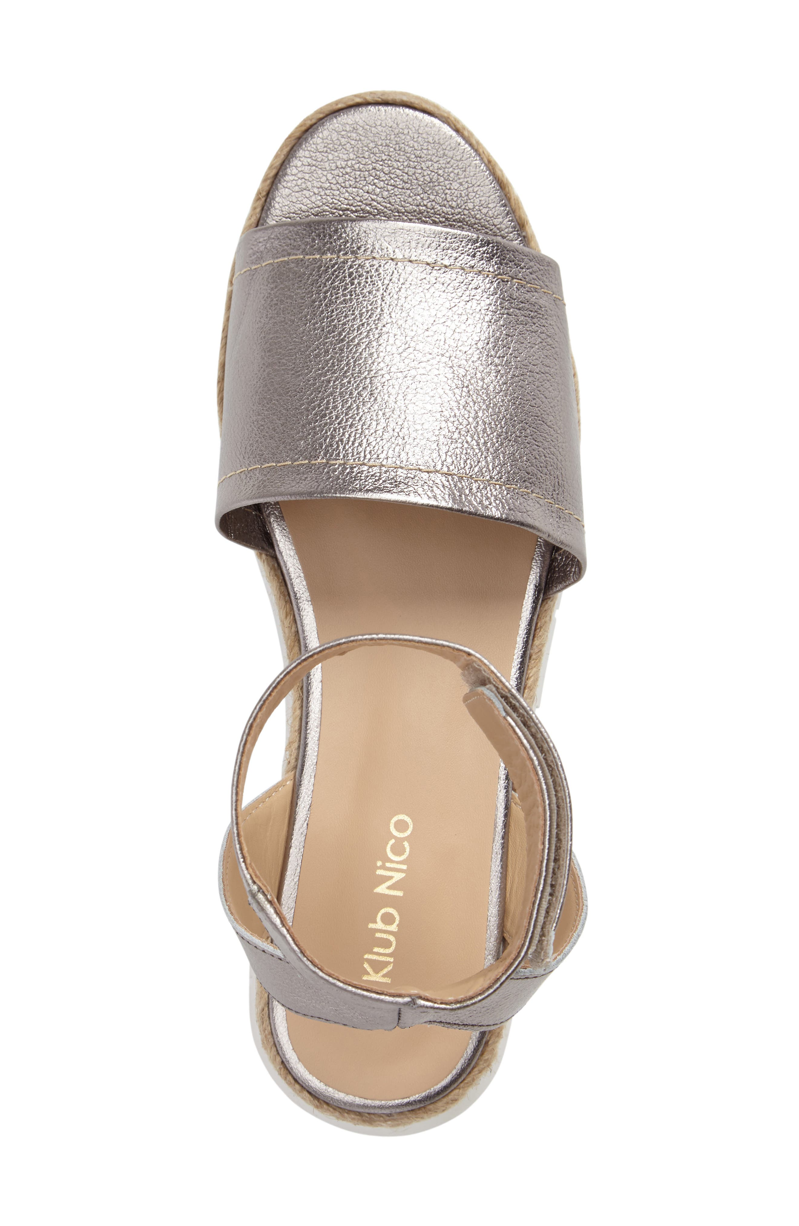 Cleo Platform Sandal,                             Alternate thumbnail 3, color,                             021