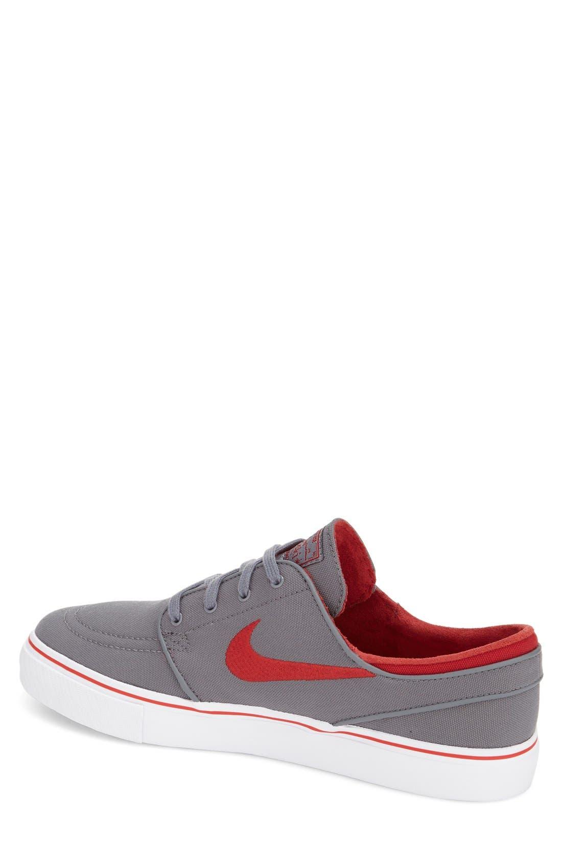 Zoom - Stefan Janoski SB Canvas Skate Shoe,                             Alternate thumbnail 149, color,