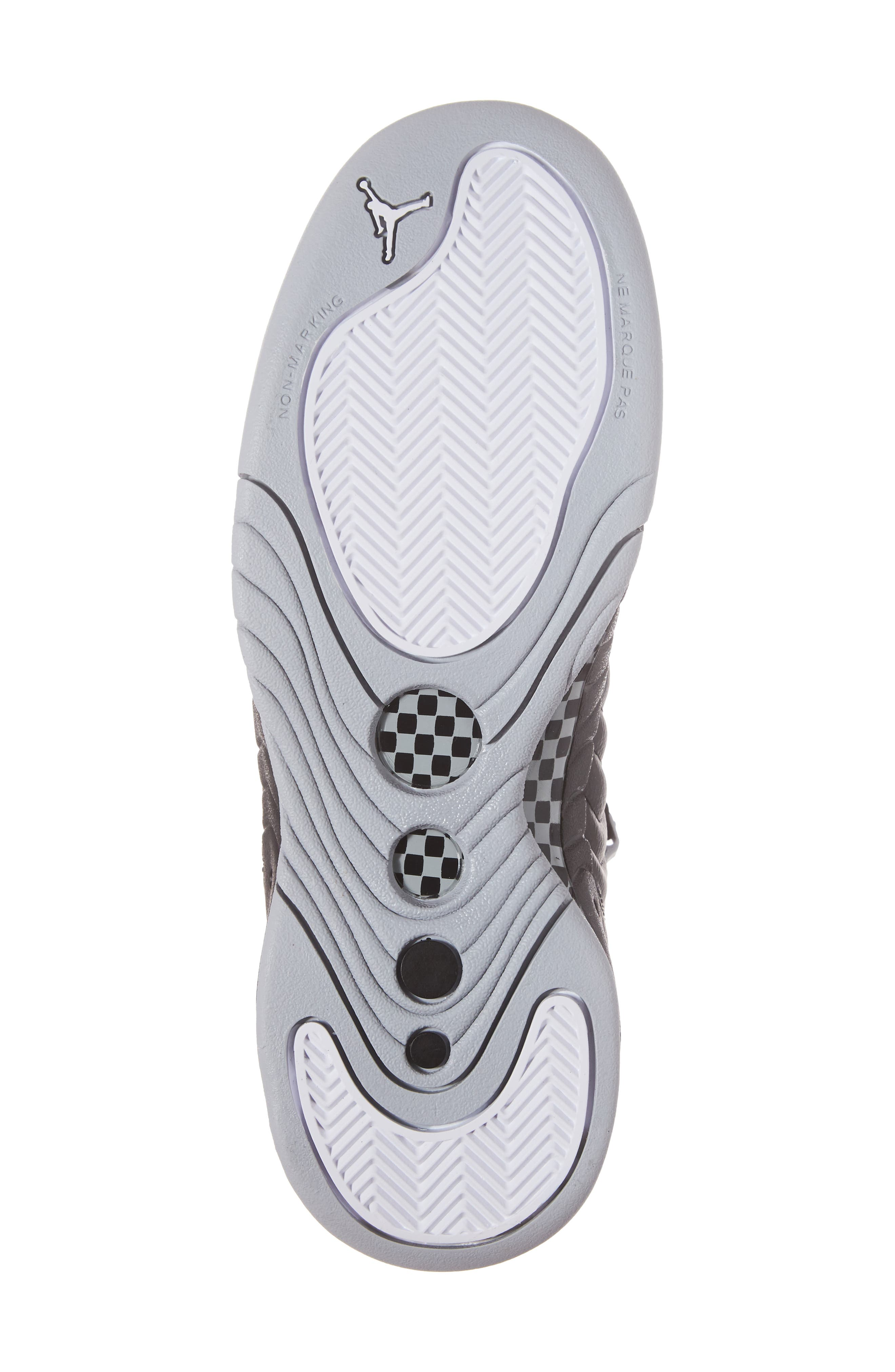 Jumpman Pro BG Mid Top Sneaker,                             Alternate thumbnail 6, color,                             012