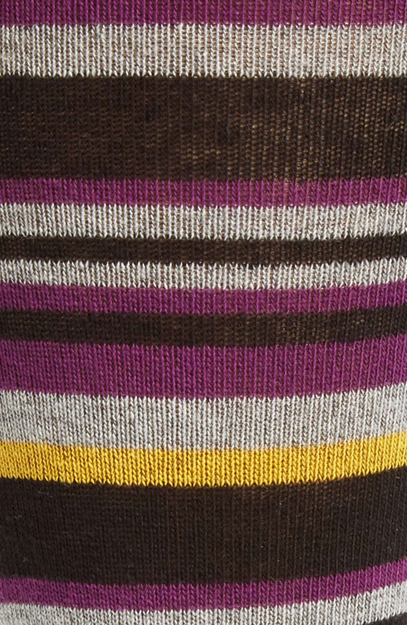 Thin Stripe Crew Socks,                             Alternate thumbnail 4, color,