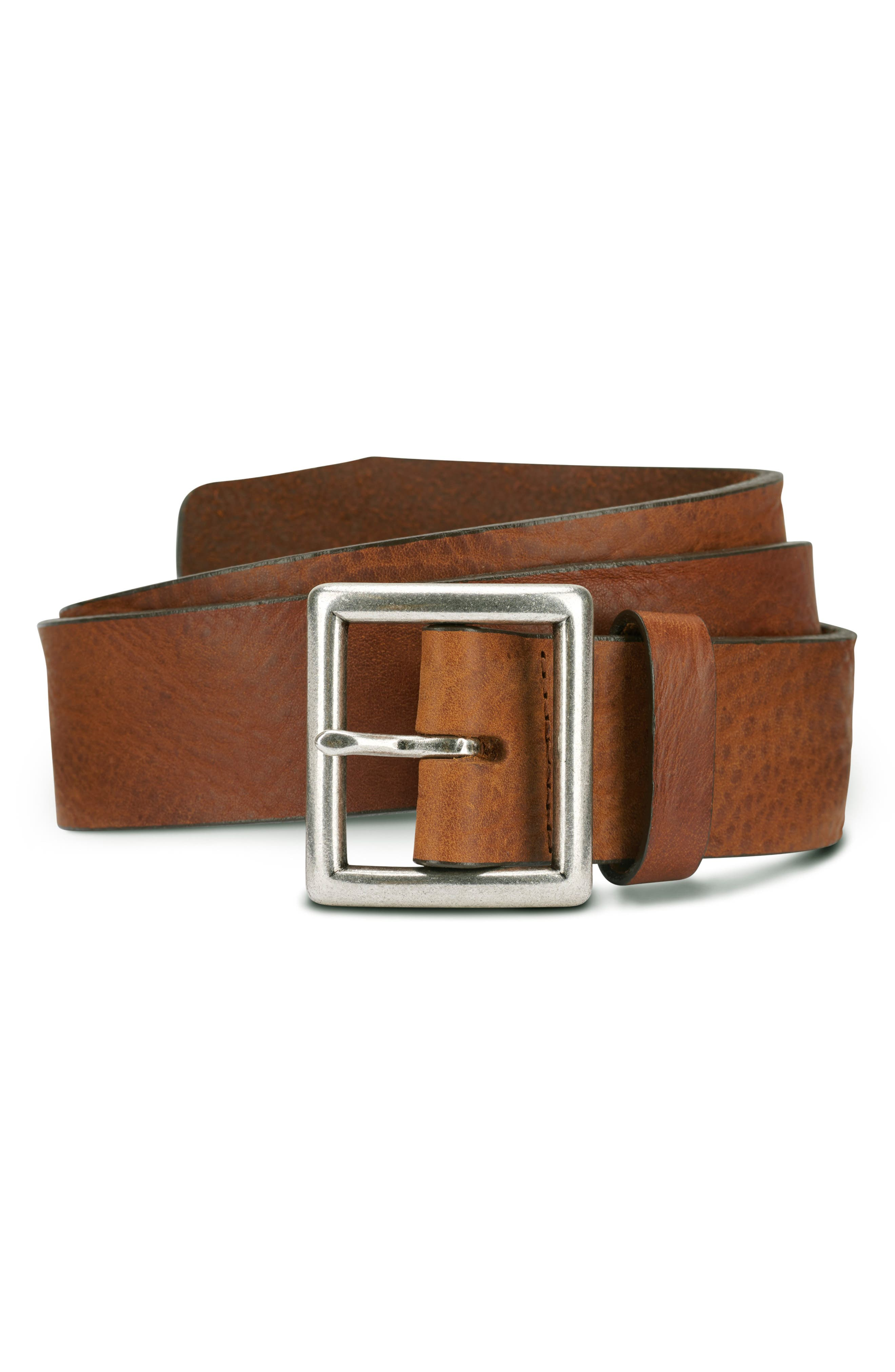 Allen Edmonds Radcliff Avenue Leather Belt, Brown