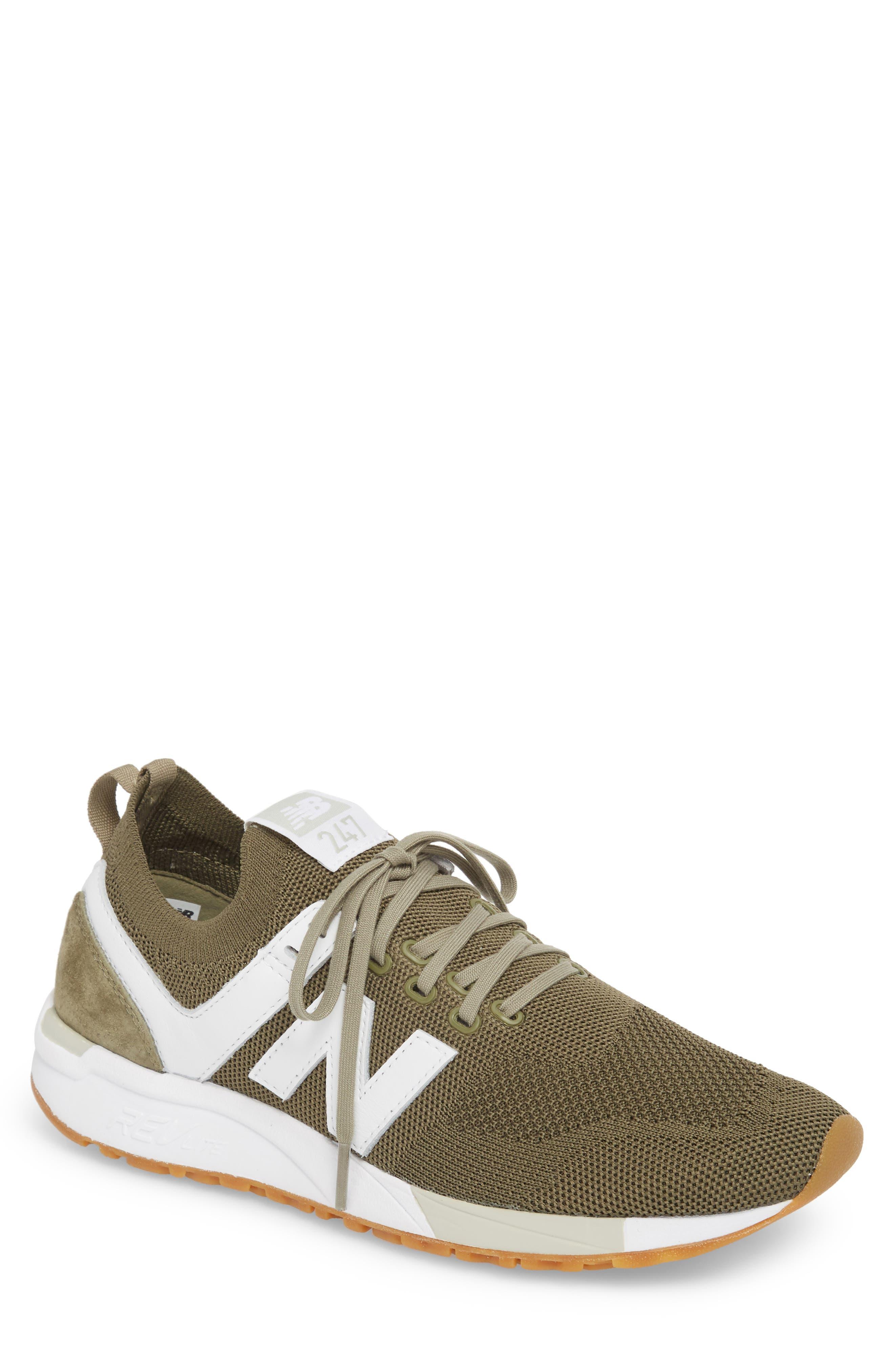 247 Decon Sneaker,                         Main,                         color, COVERT GREEN