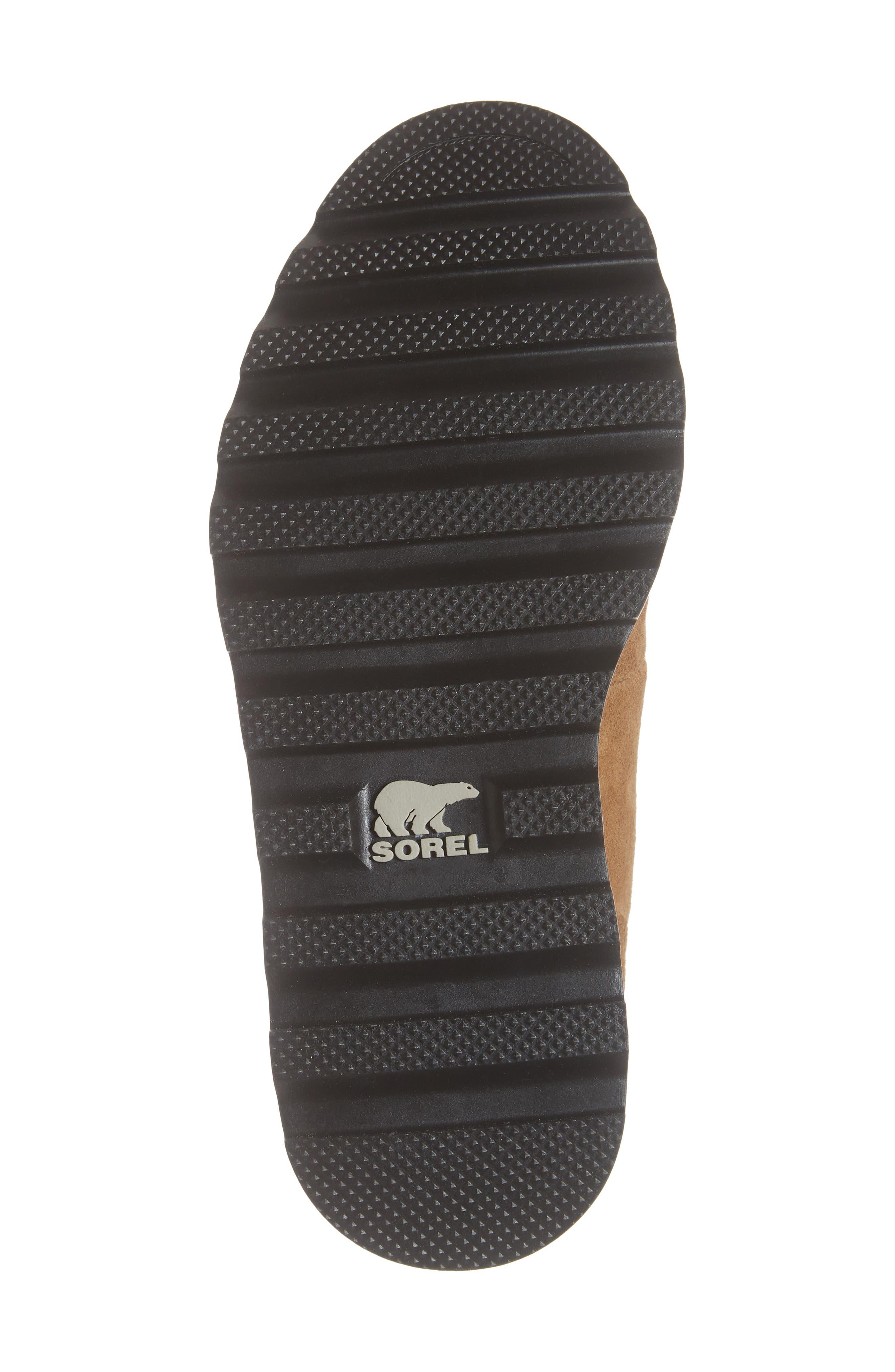 Madison Waterproof Hiker Boot,                             Alternate thumbnail 6, color,                             CAMEL BROWN/ BLACK