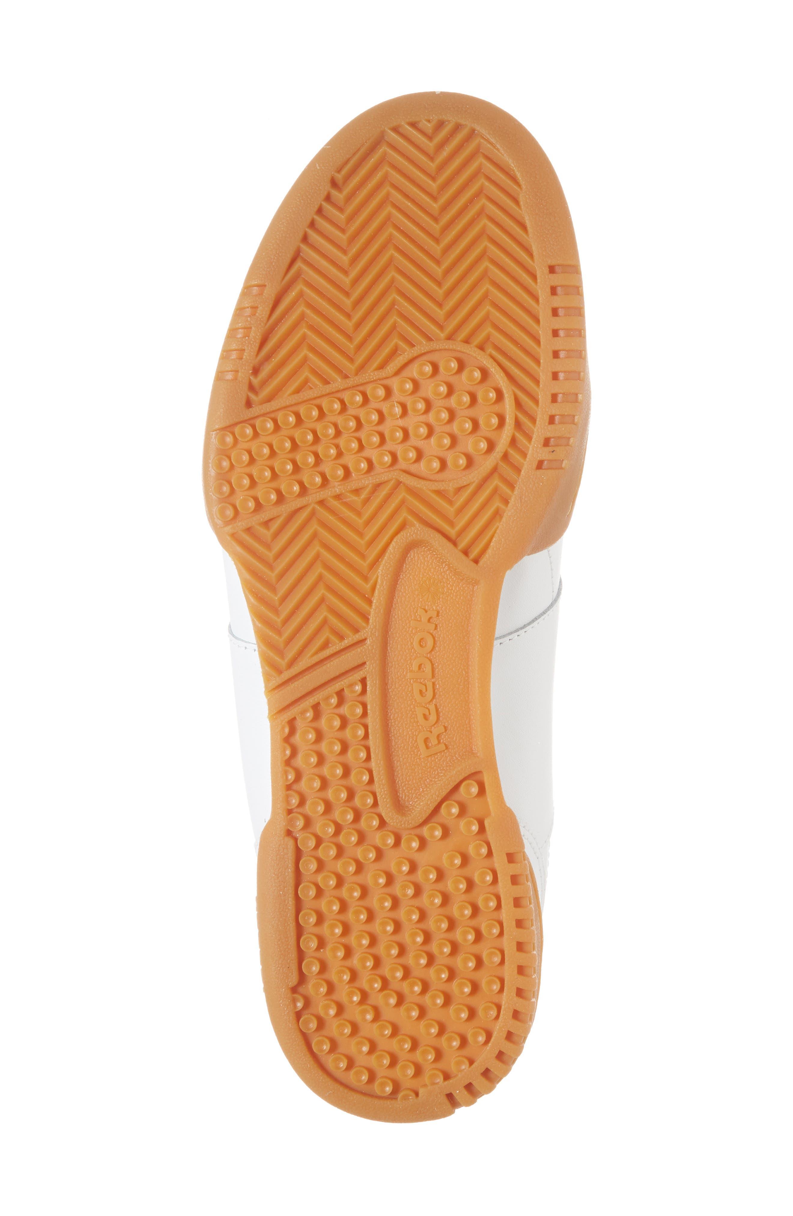 Workout Plus Sneaker,                             Alternate thumbnail 6, color,                             WHITE