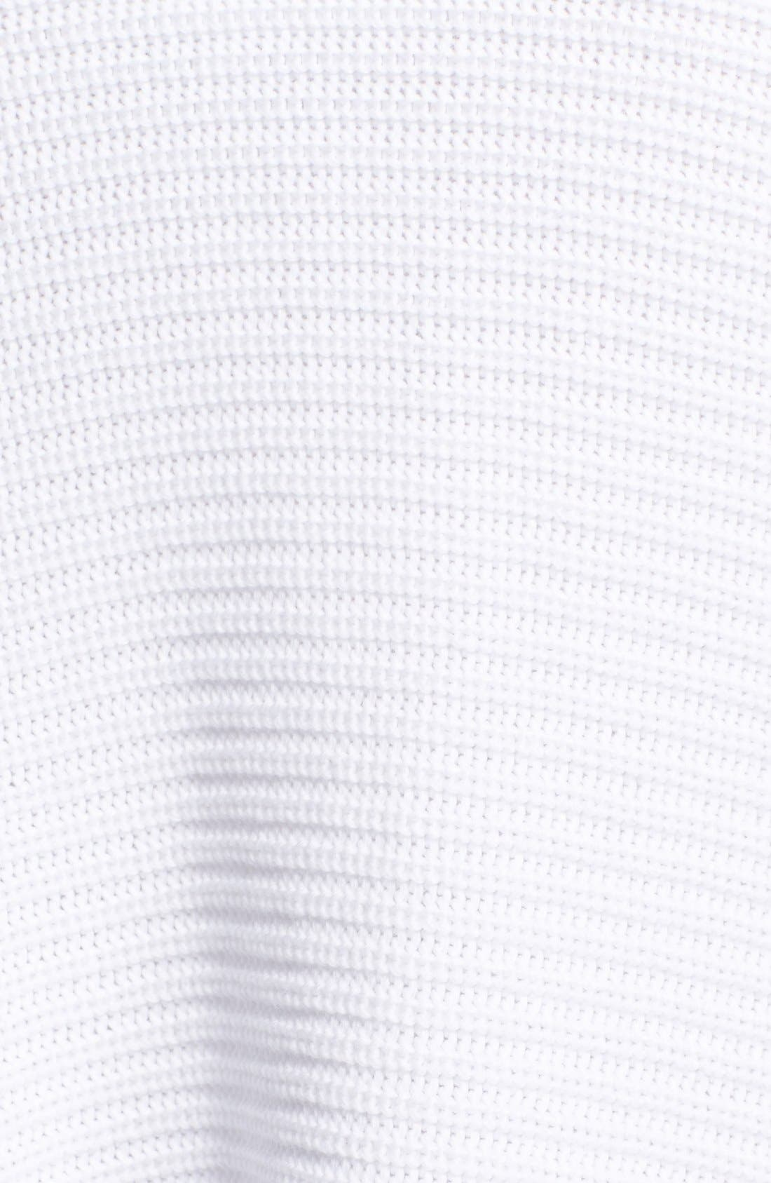 Cotton Drape Front Cardigan,                             Alternate thumbnail 3, color,                             137