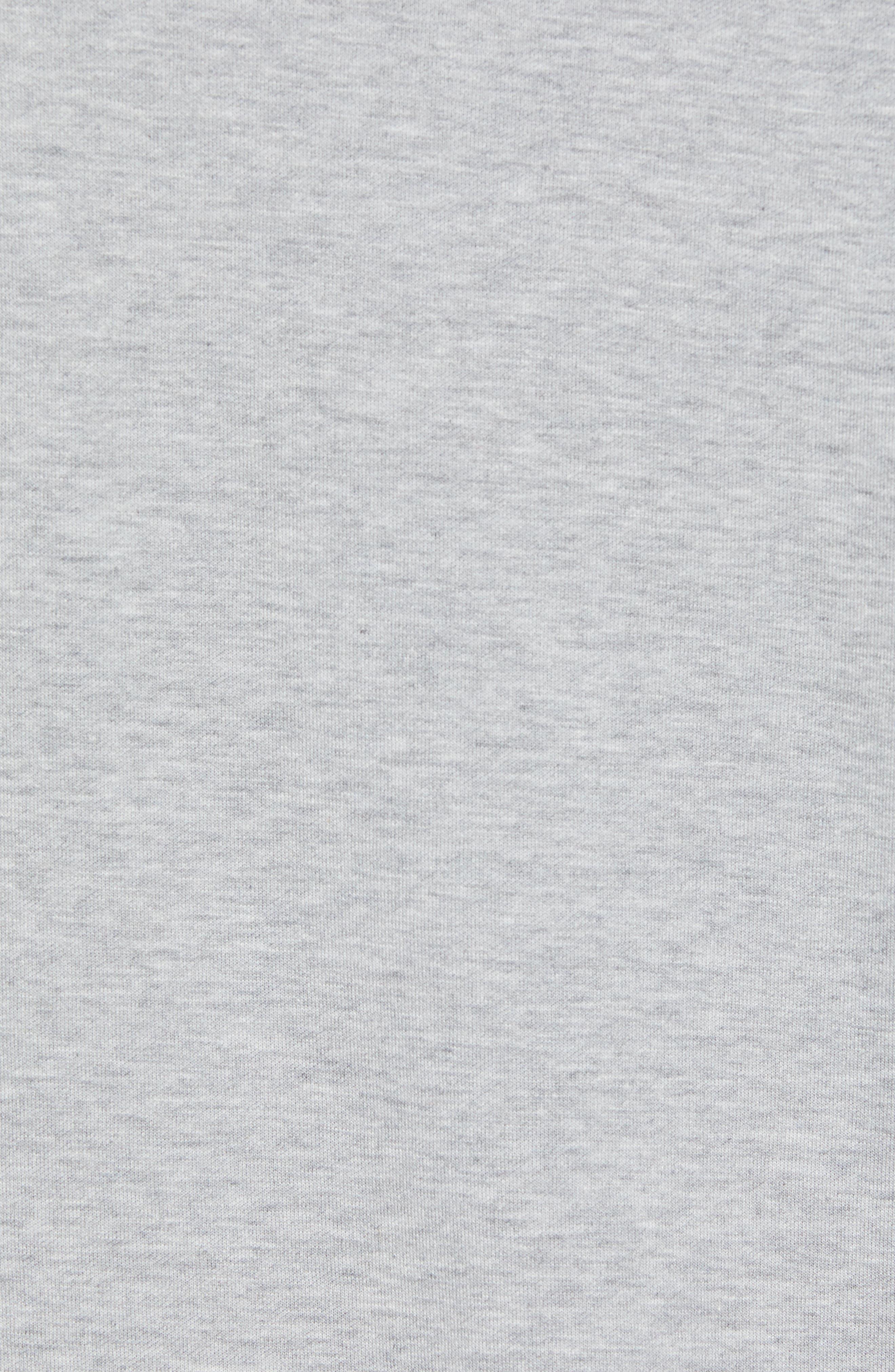 Sully Quarter Zip Pullover,                             Alternate thumbnail 5, color,                             LIGHT GREY