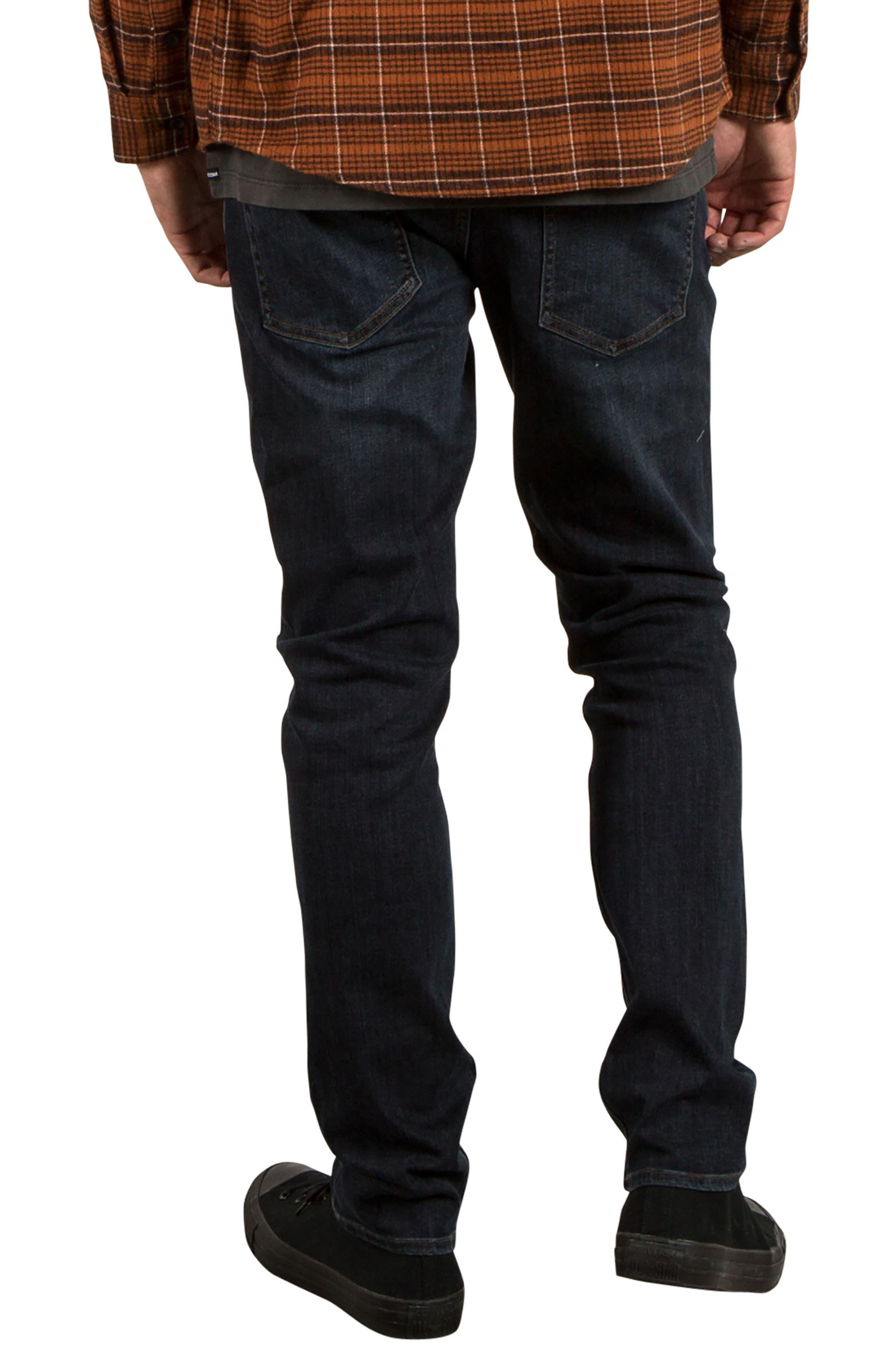 2x4 Slim Straight Leg Jeans,                             Alternate thumbnail 5, color,