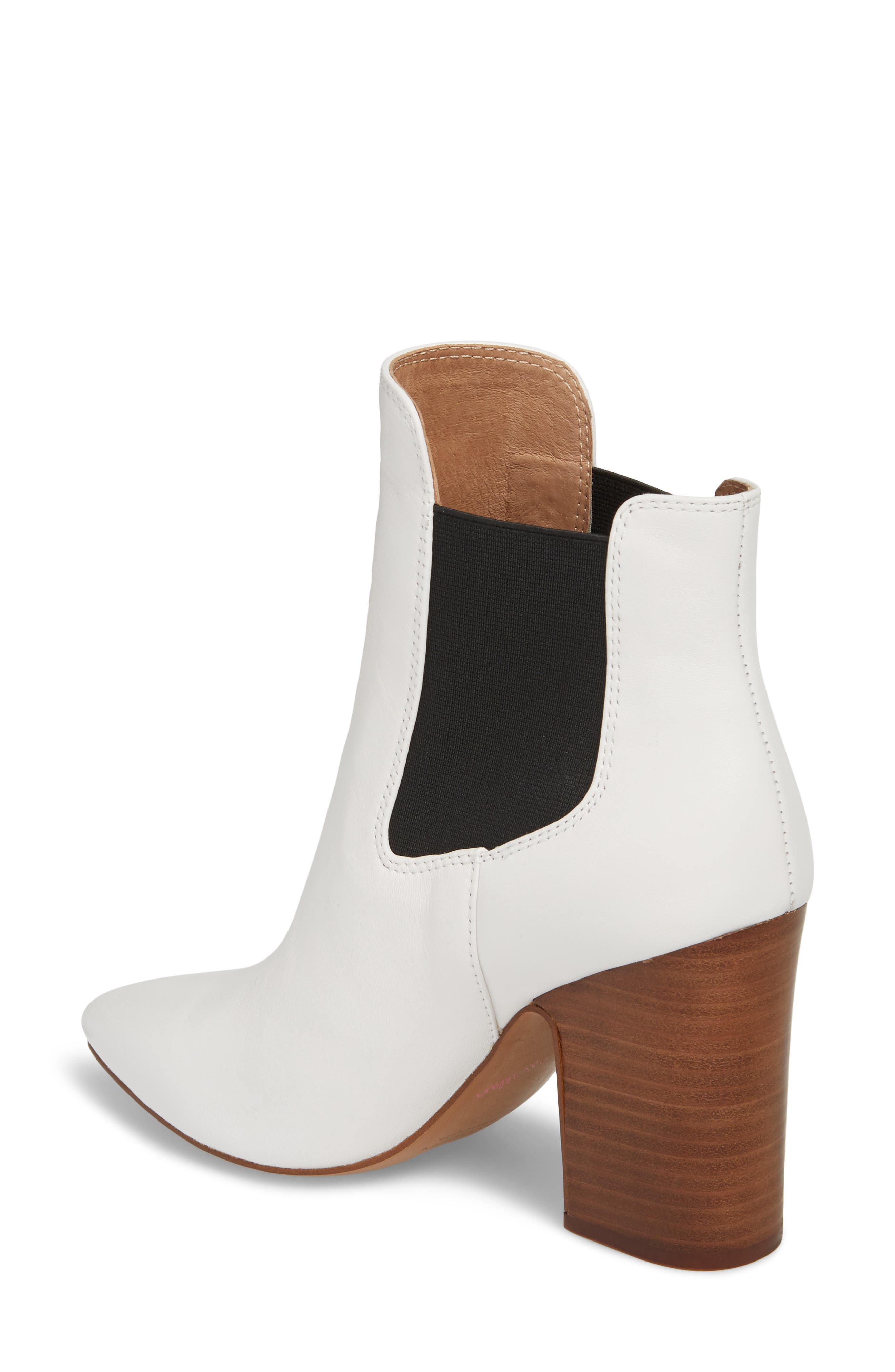 Starlight Bootie,                             Alternate thumbnail 2, color,                             WHITE LEATHER