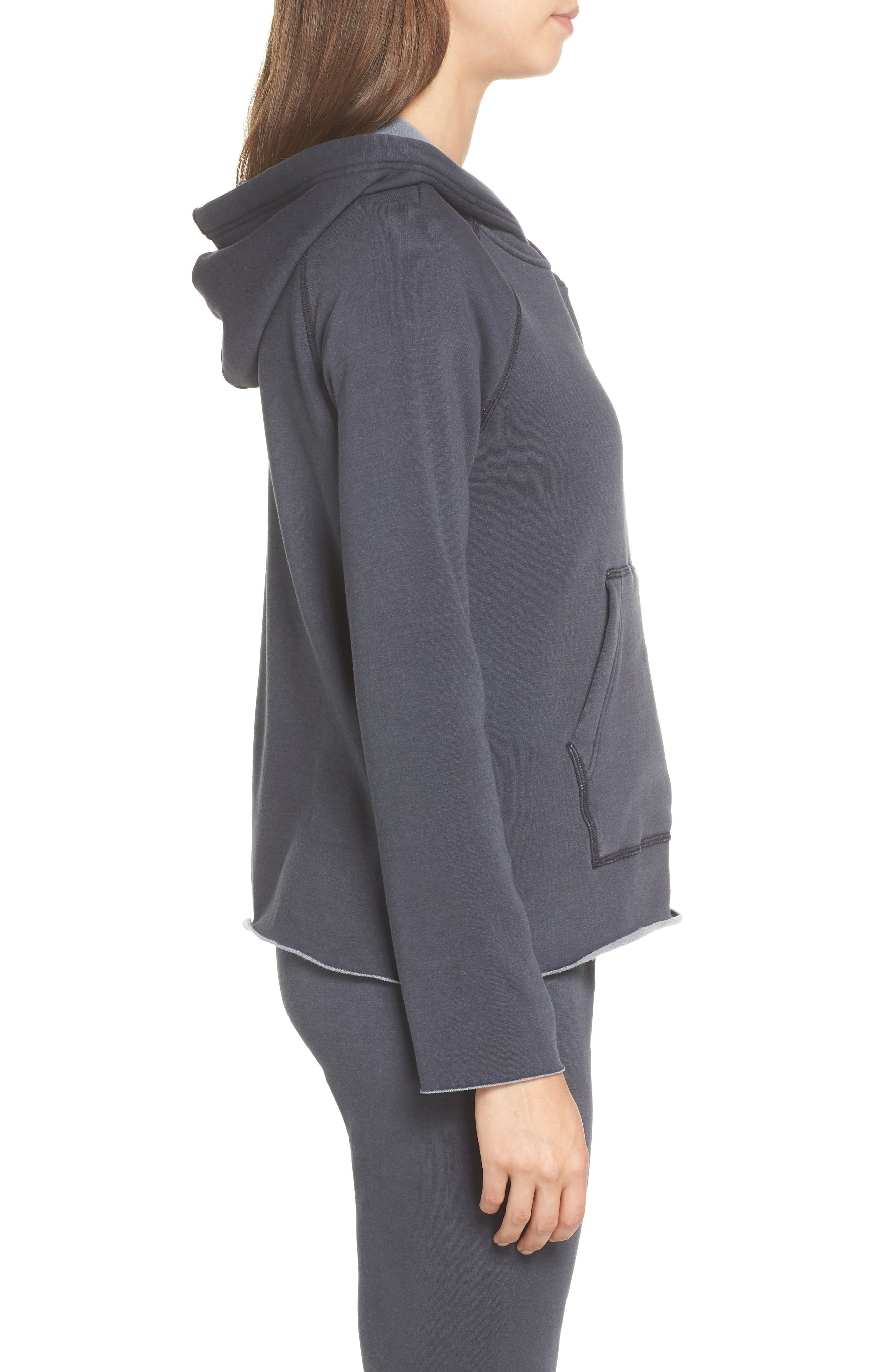 Pilar Hoodie,                             Alternate thumbnail 3, color,                             CHARCOAL