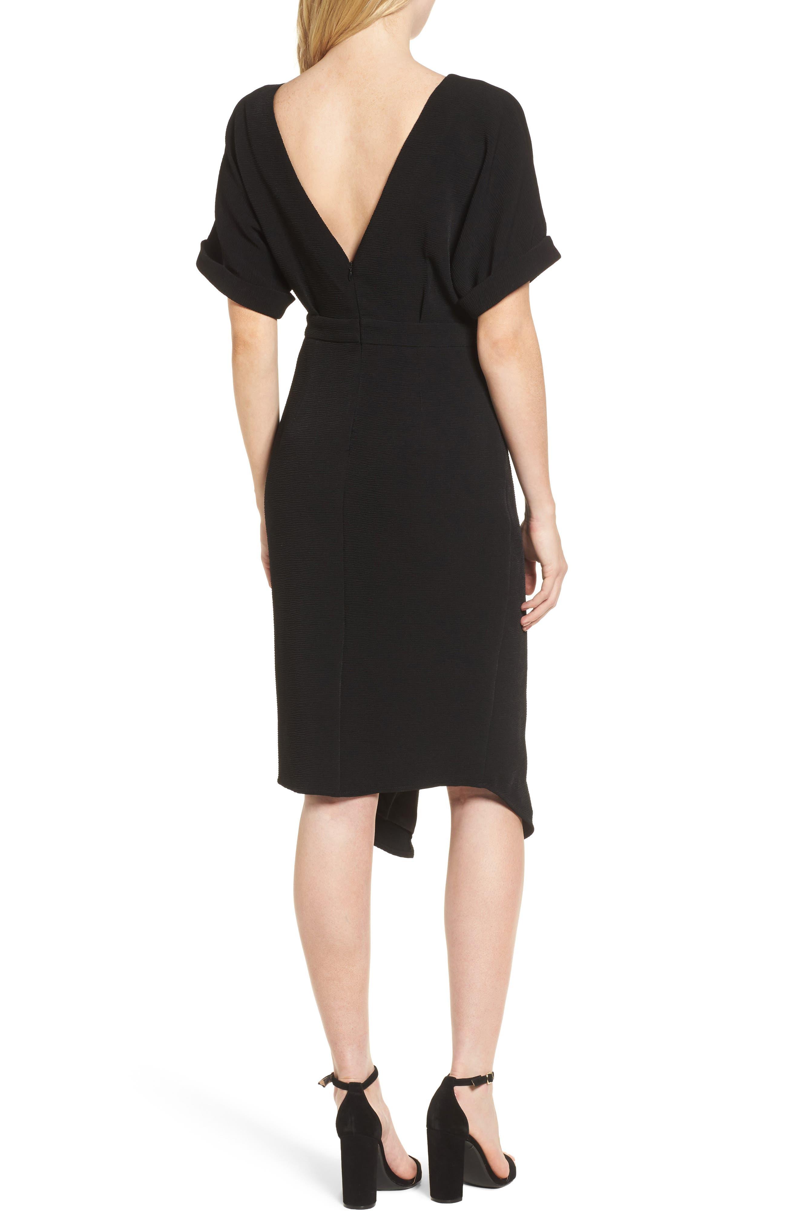 Barre Dress,                             Alternate thumbnail 2, color,                             001