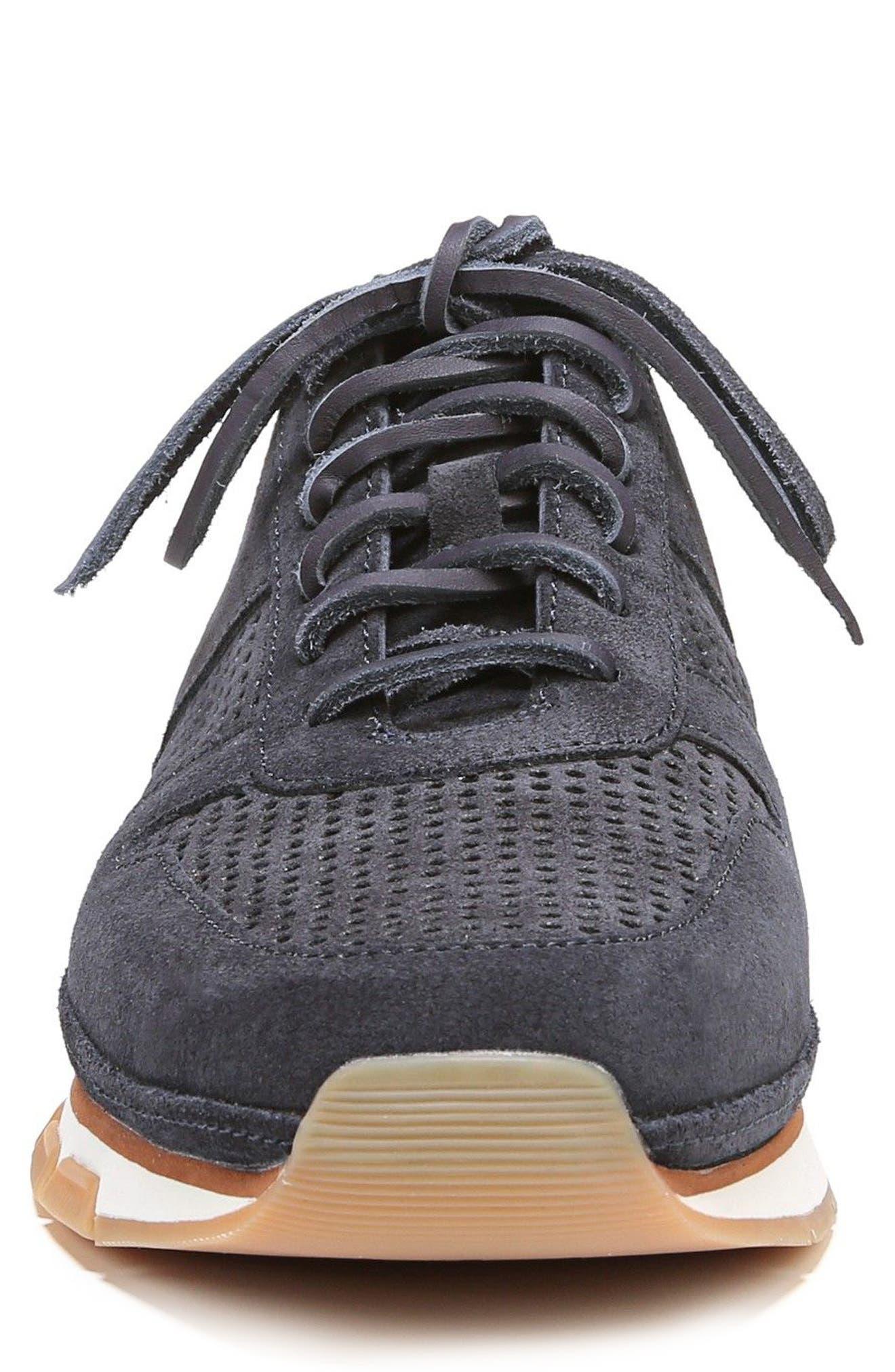 Larson Perforated Sneaker,                             Alternate thumbnail 4, color,                             COASTAL