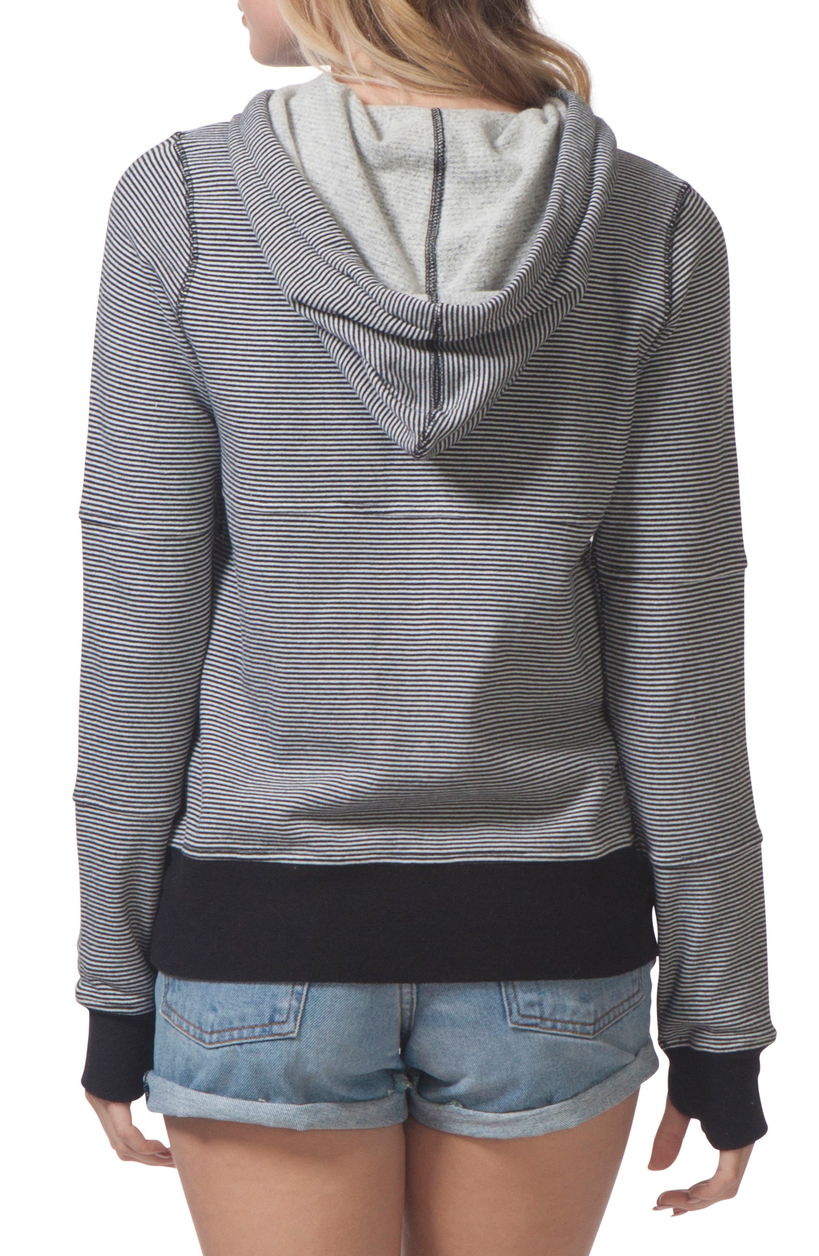 Surf Threads Hoodie,                             Alternate thumbnail 2, color,                             001