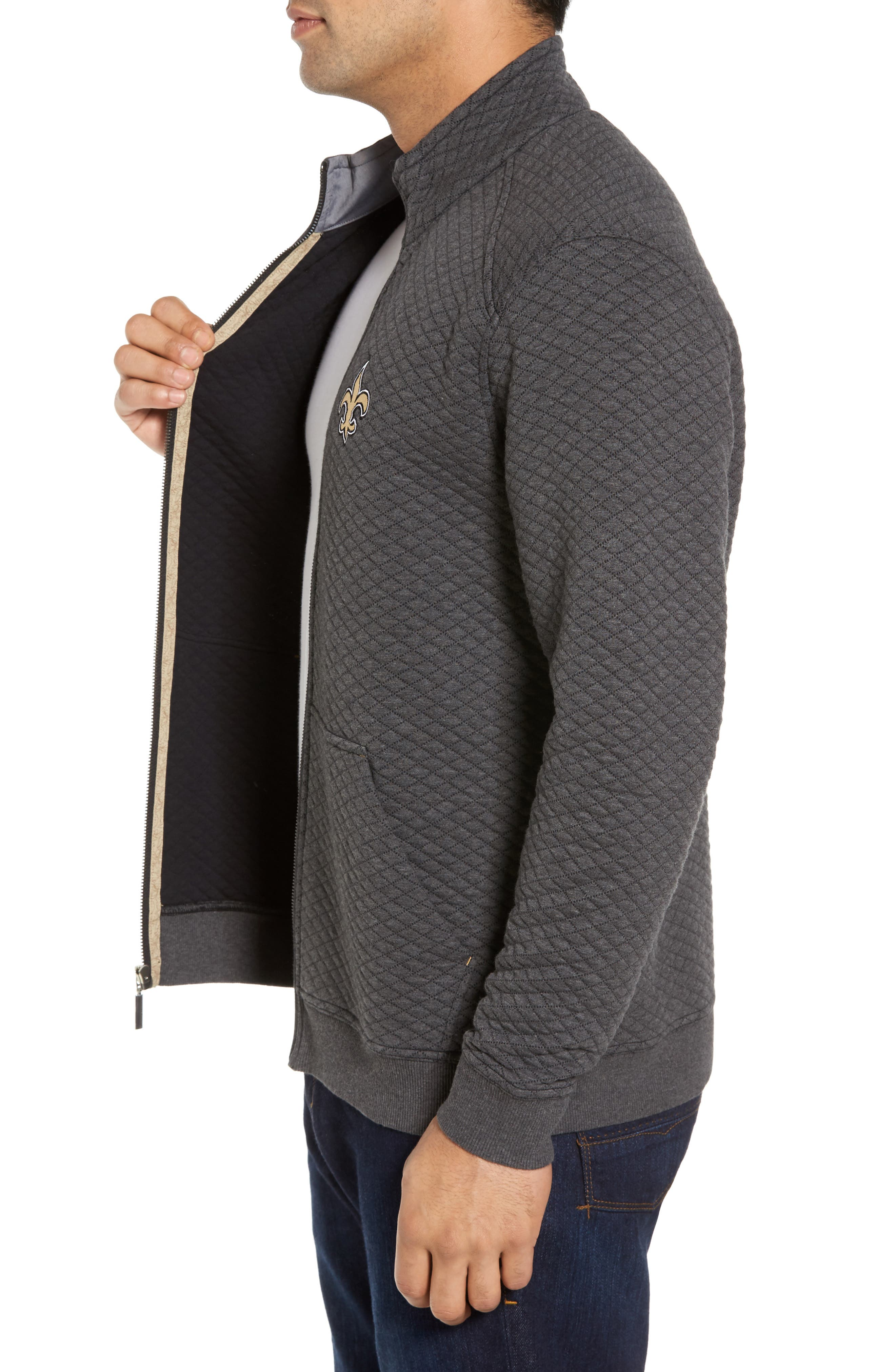 NFL Quiltessential Full Zip Sweatshirt,                             Alternate thumbnail 88, color,